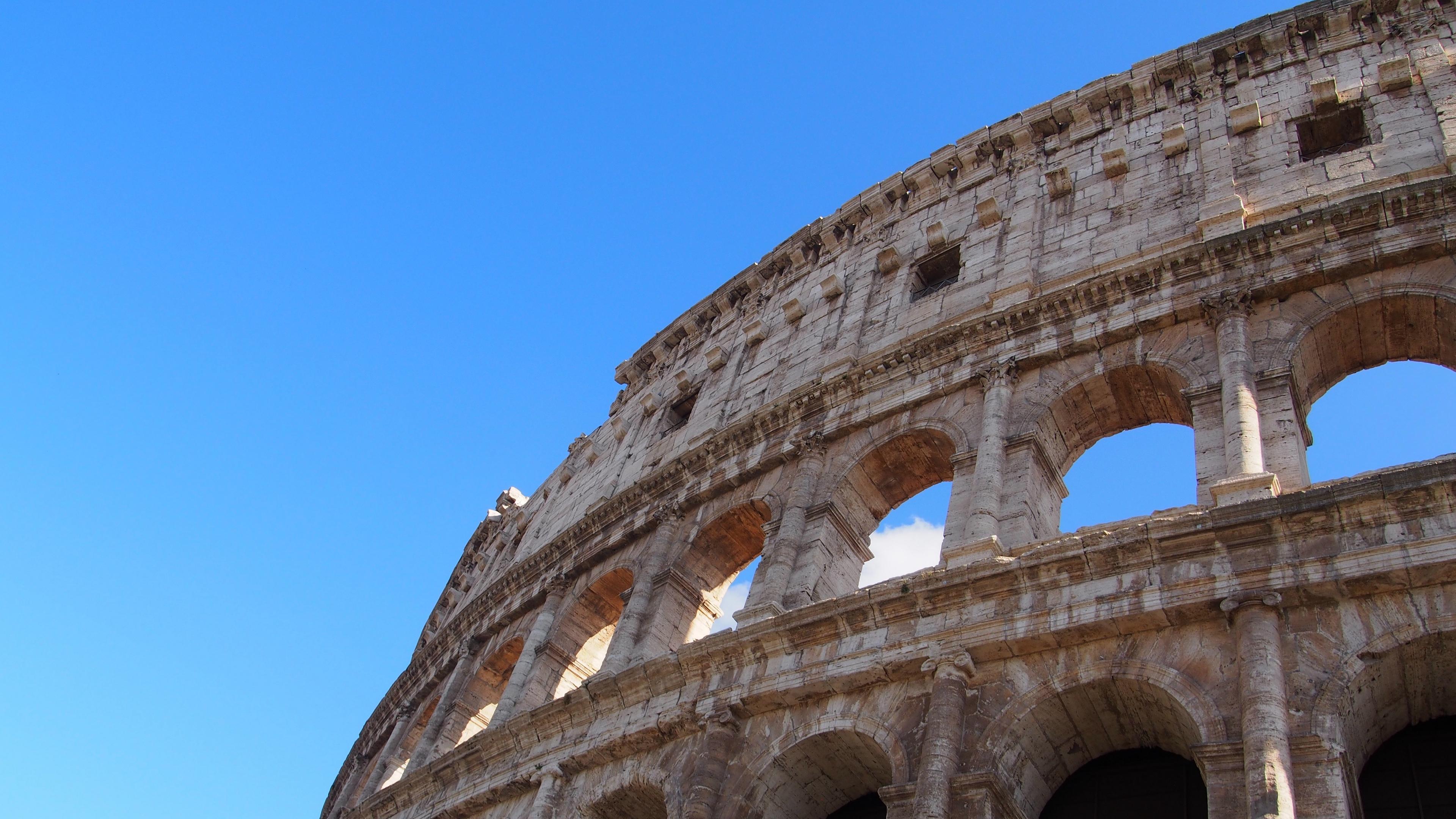 rome italy coliseum architecture 4k 1538065246 - rome, italy, coliseum, architecture 4k - Rome, Italy, coliseum