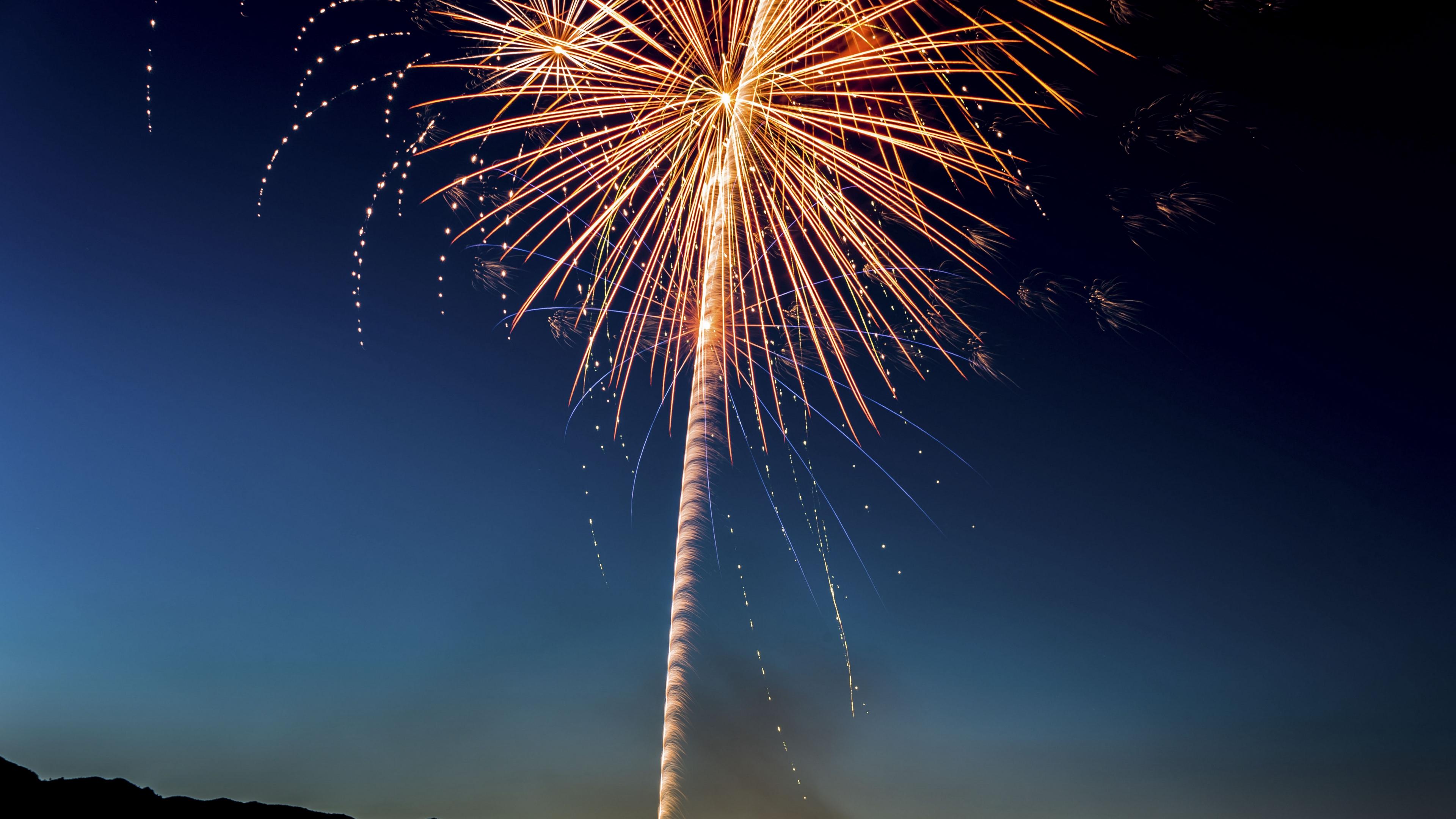 salute fireworks holiday 4k 1538344574 - salute, fireworks, holiday 4k - salute, Holiday, Fireworks