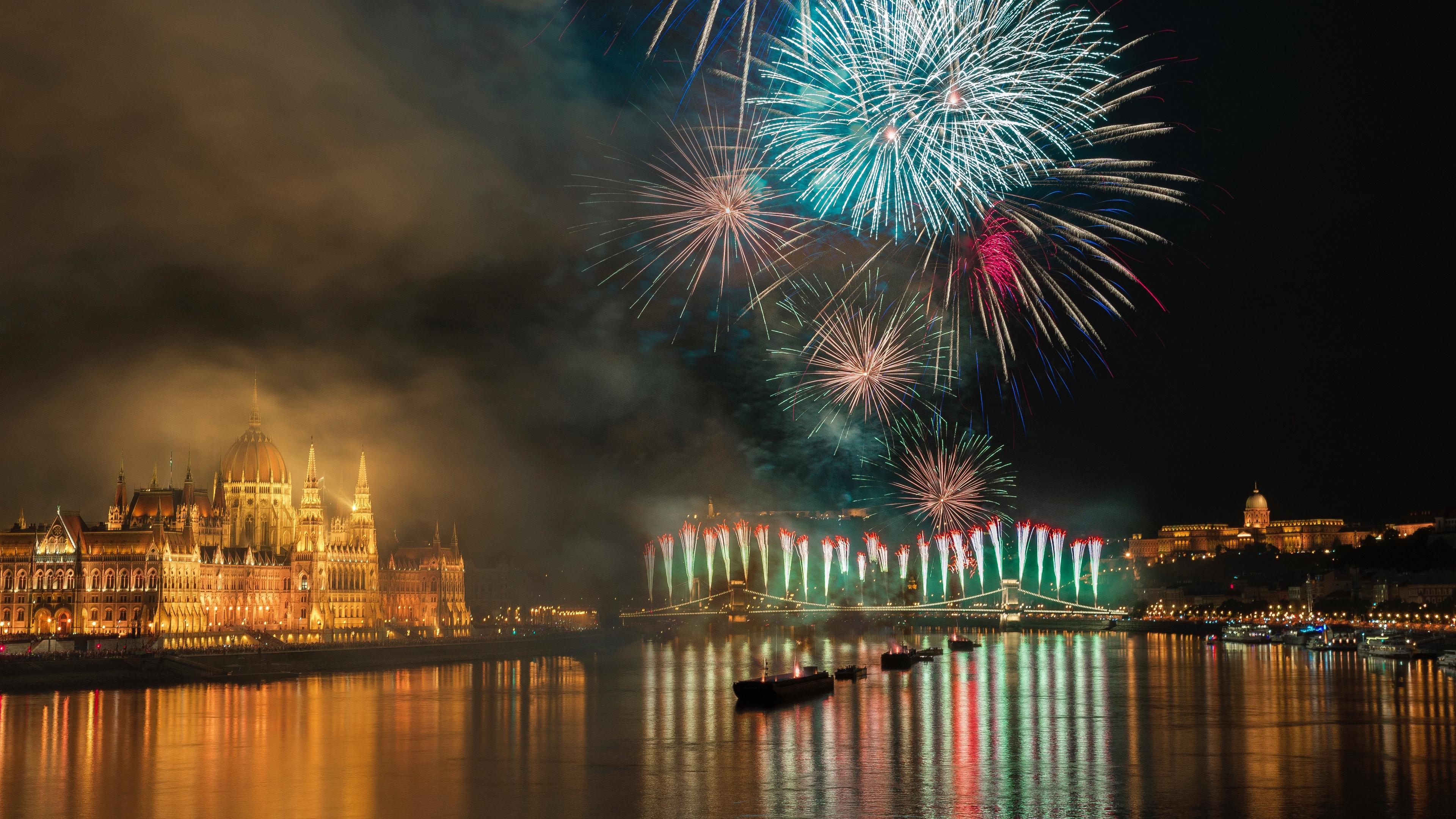 salute night city celebration budapest hungary night 4k 1538066400 - salute, night city, celebration, budapest, hungary, night 4k - salute, night city, Celebration