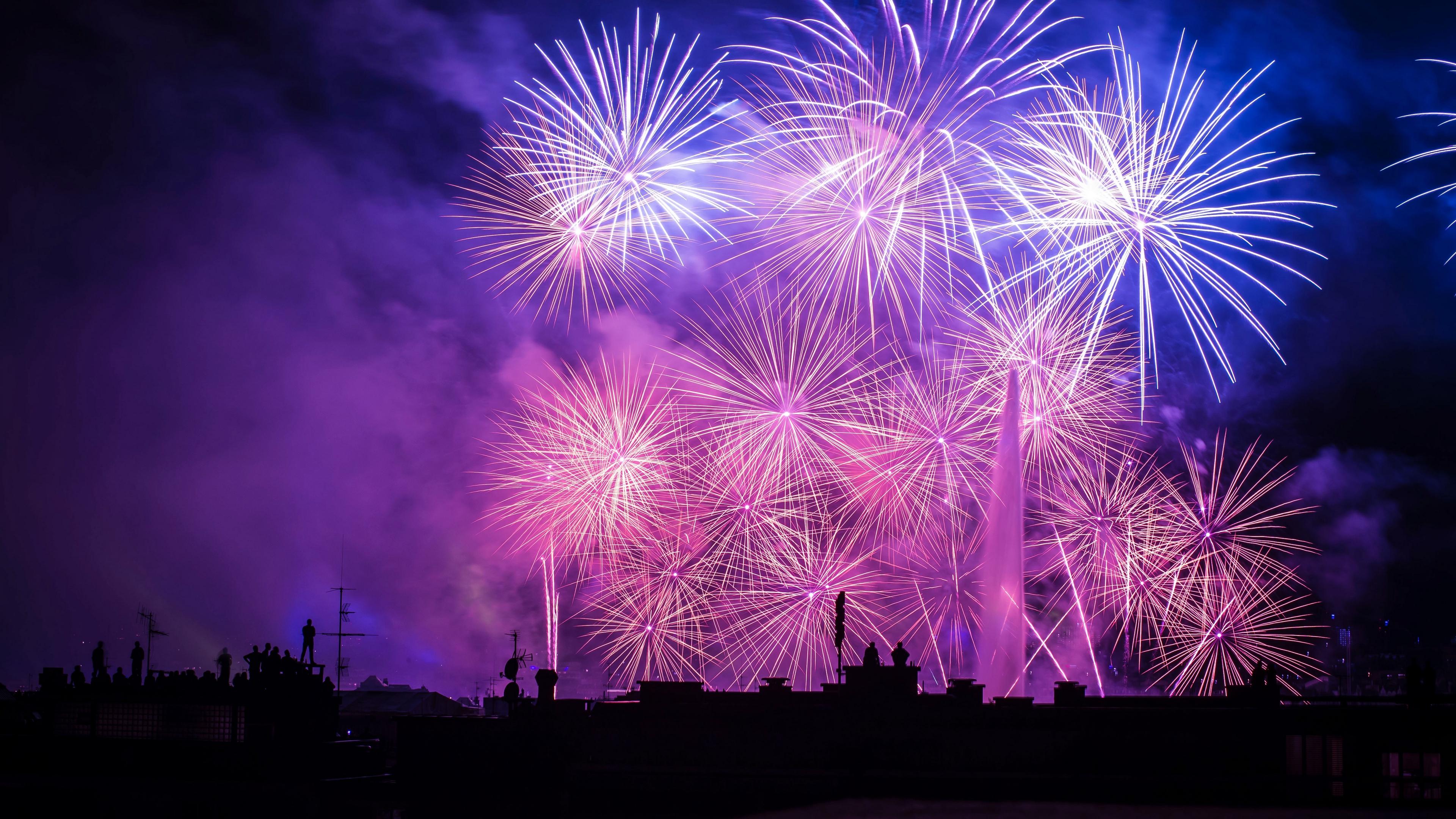 salute night fireworks beautiful 4k 1538345354 - salute, night, fireworks, beautiful 4k - salute, Night, Fireworks
