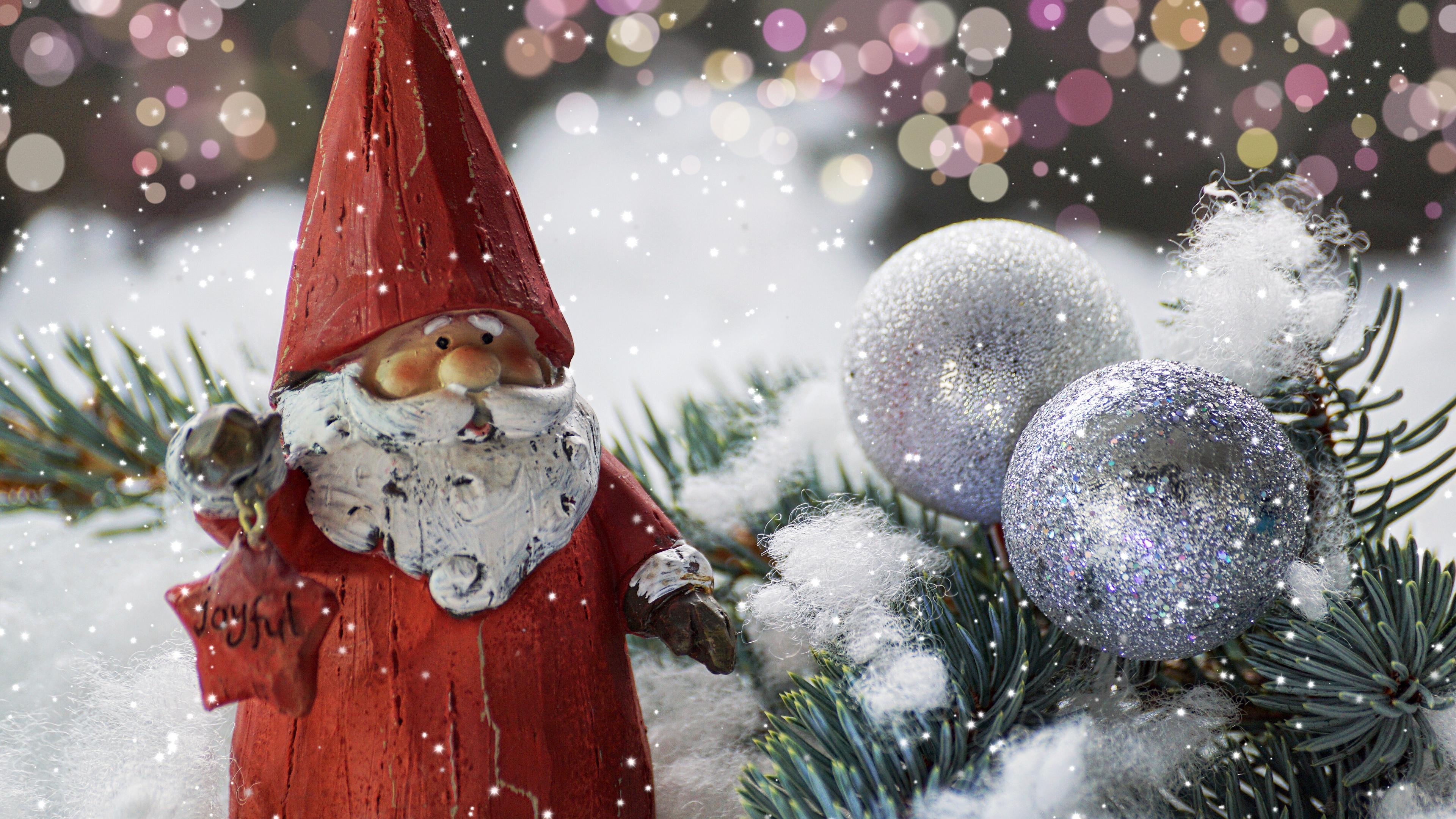 santa claus new year figurine 4k 1538345121 - santa claus, new year, figurine 4k - santa claus, new year, figurine