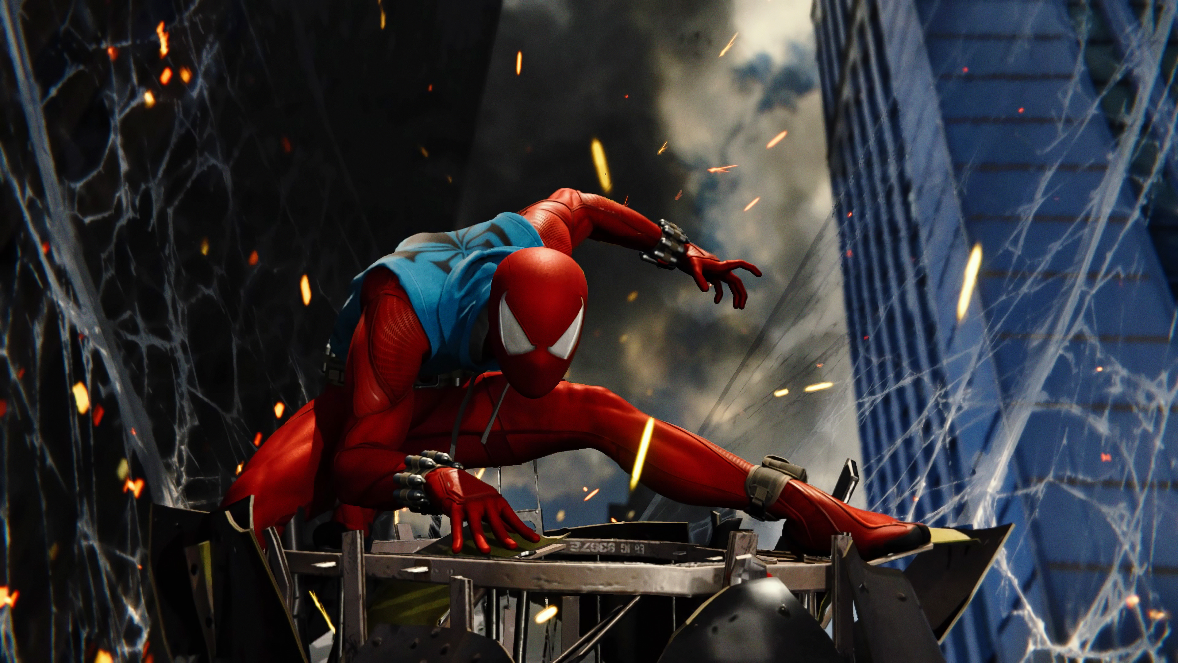 scarlet spider ps4 game 4k 1537692372 - Scarlet Spider Ps4 Game 4k - spiderman ps4 wallpapers, scarlet spider wallpapers, ps4 games wallpapers, hd-wallpapers, games wallpapers, 4k-wallpapers, 2018 games wallpapers