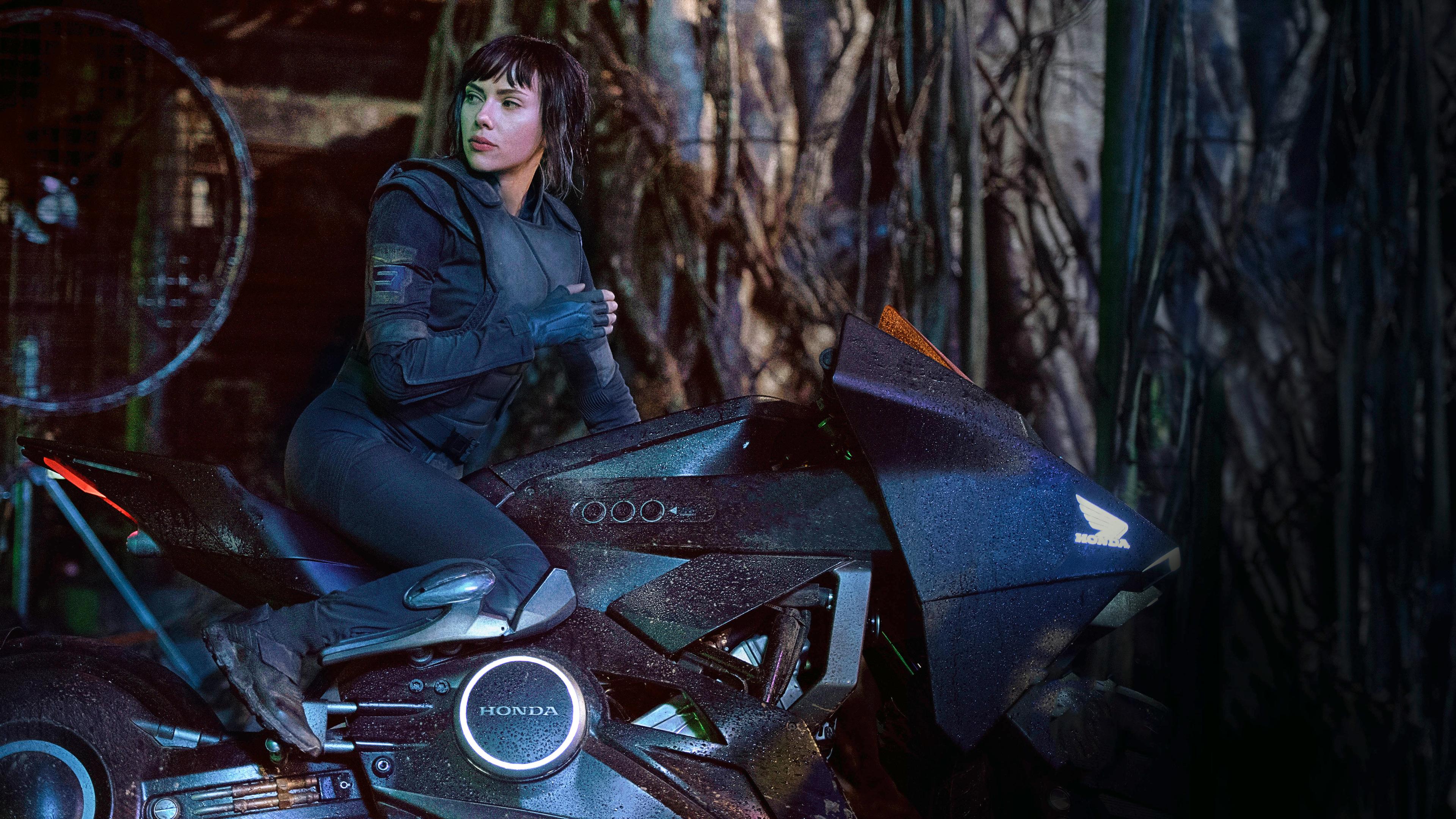 Wallpaper 4k Scarlett Johansson In Ghost In The Shell 5k 2017