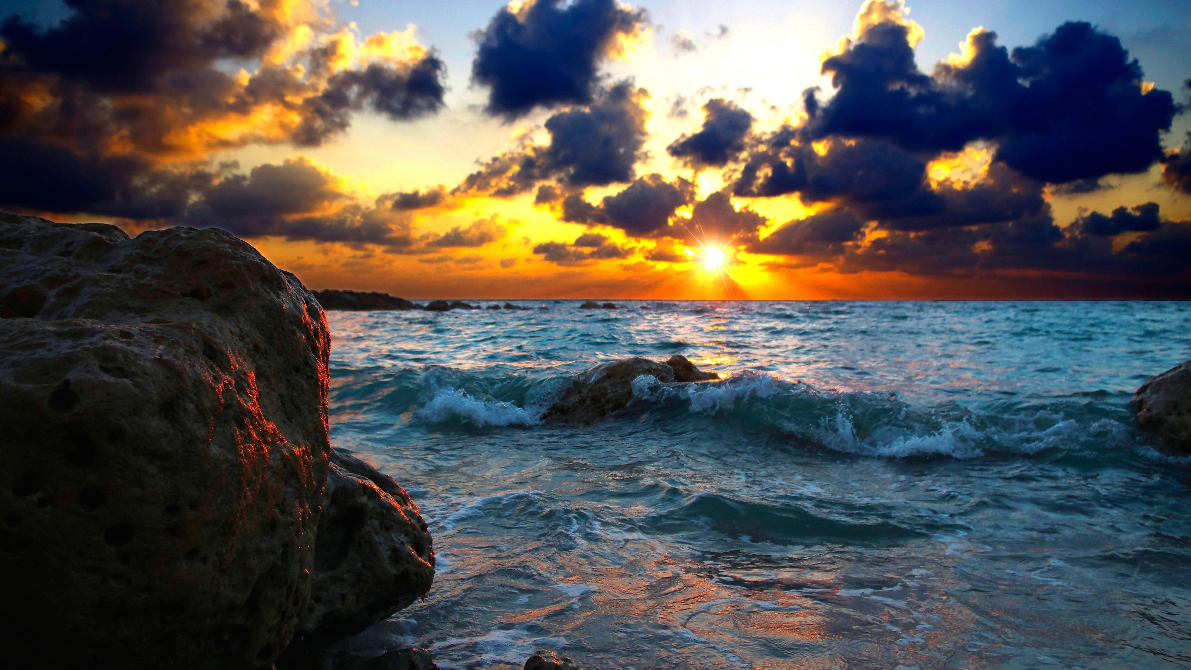 sea sunset 1535923659 - Sea Sunset - water wallpapers, sunset wallpapers, sea wallpapers, nature wallpapers