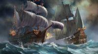 ships sea storm explosion 4k 1536098204 200x110 - ships, sea, storm, explosion 4k - Storm, ships, Sea