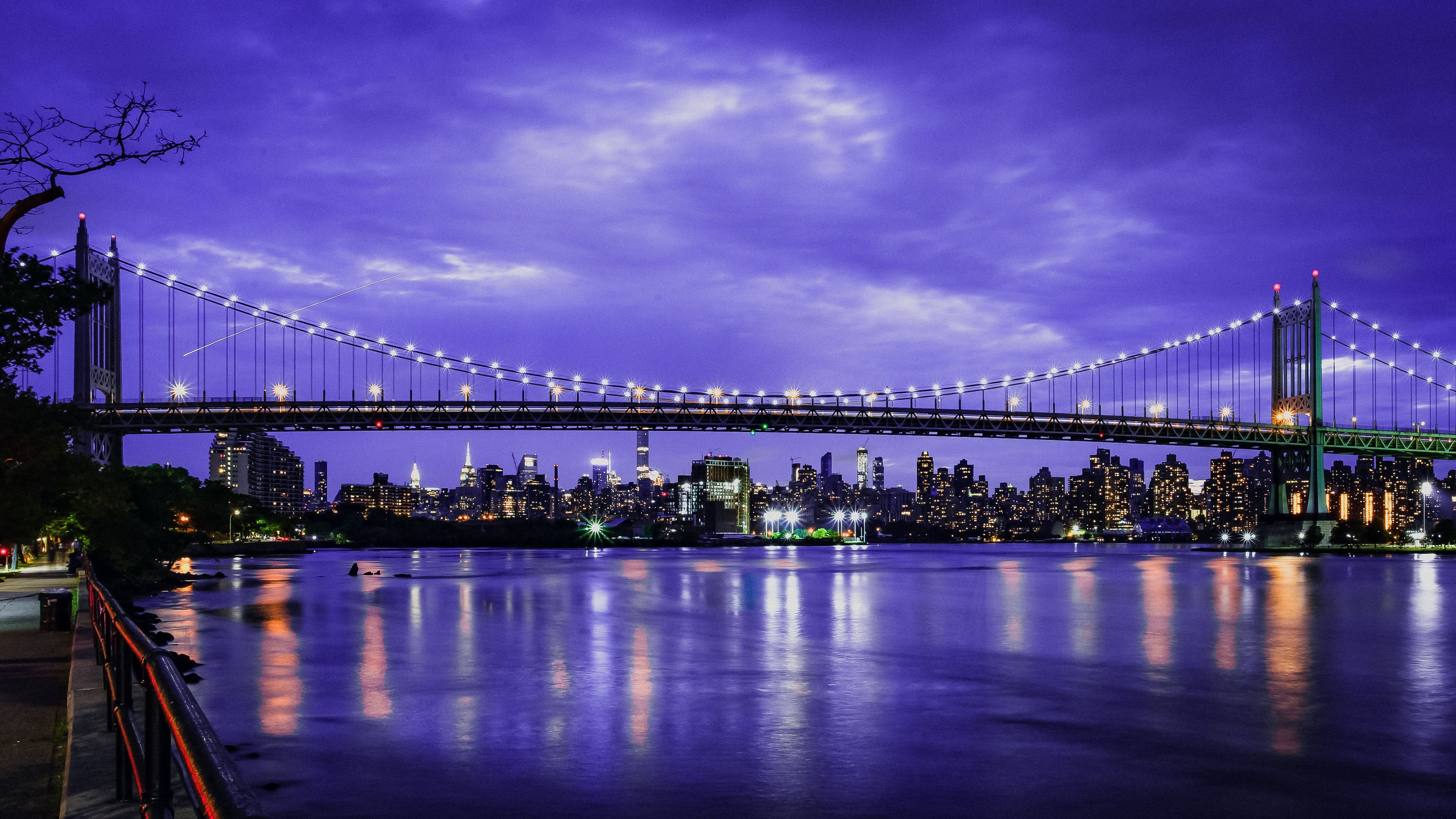 skyline triboro nyc bridge 1538072093 - Skyline Triboro Nyc Bridge - world wallpapers, new york wallpapers, hd-wallpapers, bridge wallpapers