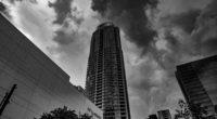 skyscraper bw facade clouds 4k 1538064671 200x110 - skyscraper, bw, facade, clouds 4k - Skyscraper, facade, bw