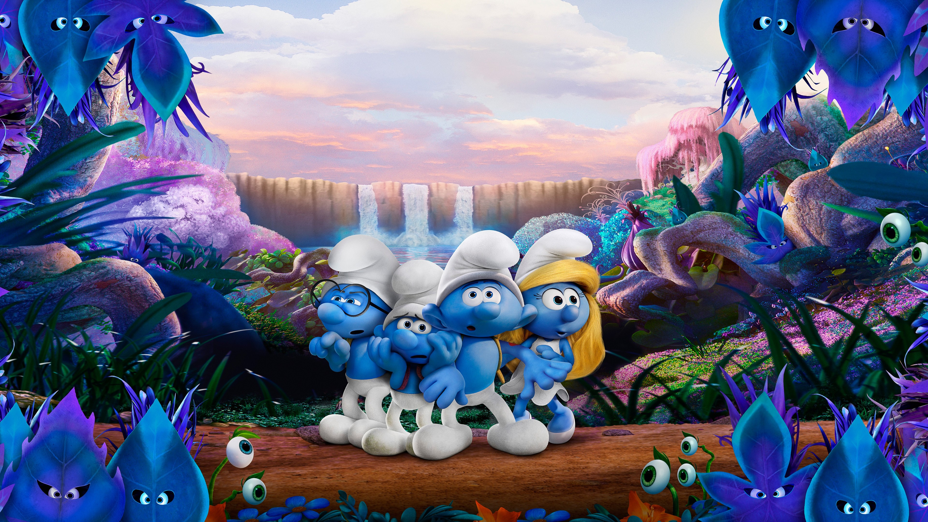 smurfs the lost village 4k 5k 1536401972 - Smurfs The Lost Village 4k 5k - smurfs wallpapers, smurfs the lost village wallpapers, movies wallpapers, hd-wallpapers, animated movies wallpapers, 5k wallpapers, 4k-wallpapers, 2017 movies wallpapers