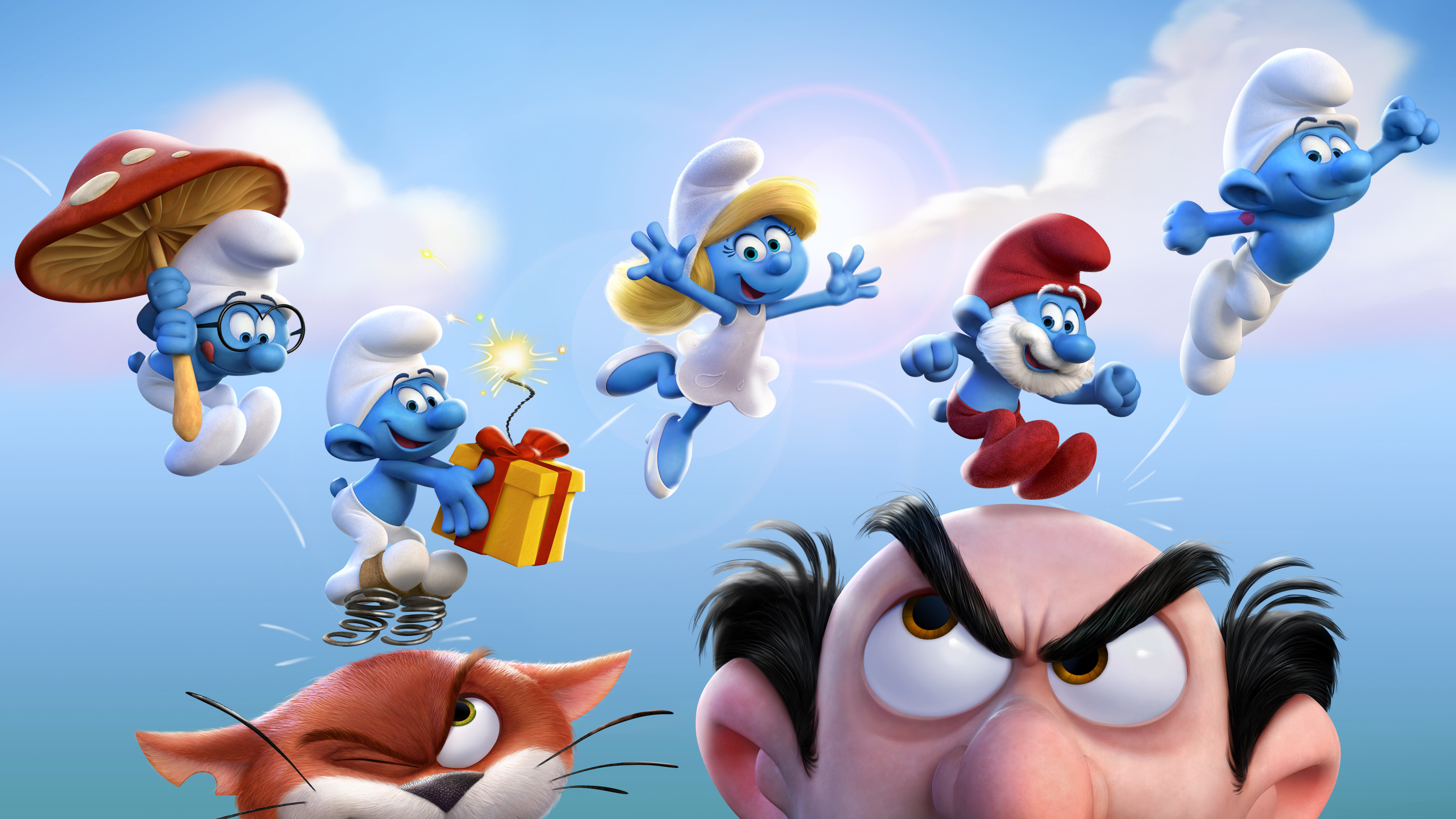 smurfs the lost village official 1536400200 - Smurfs The Lost Village Official - smurfs wallpapers, smurfs the lost village wallpapers, movies wallpapers, animated movies wallpapers, 4k-wallpapers, 2017 movies wallpapers