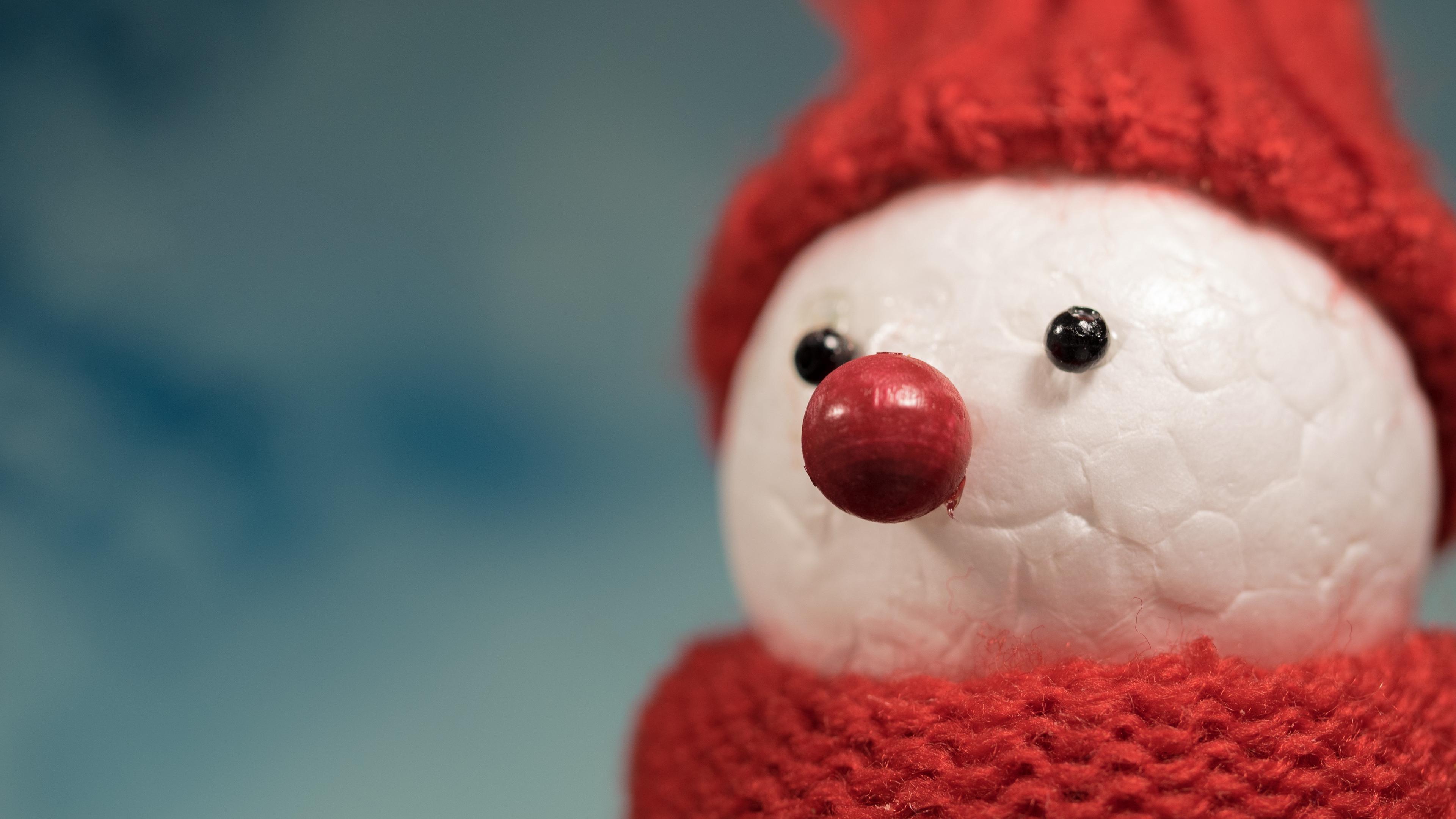 snowman hat figure scarf 4k 1538344527 - snowman, hat, figure, scarf 4k - Snowman, hat, Figure