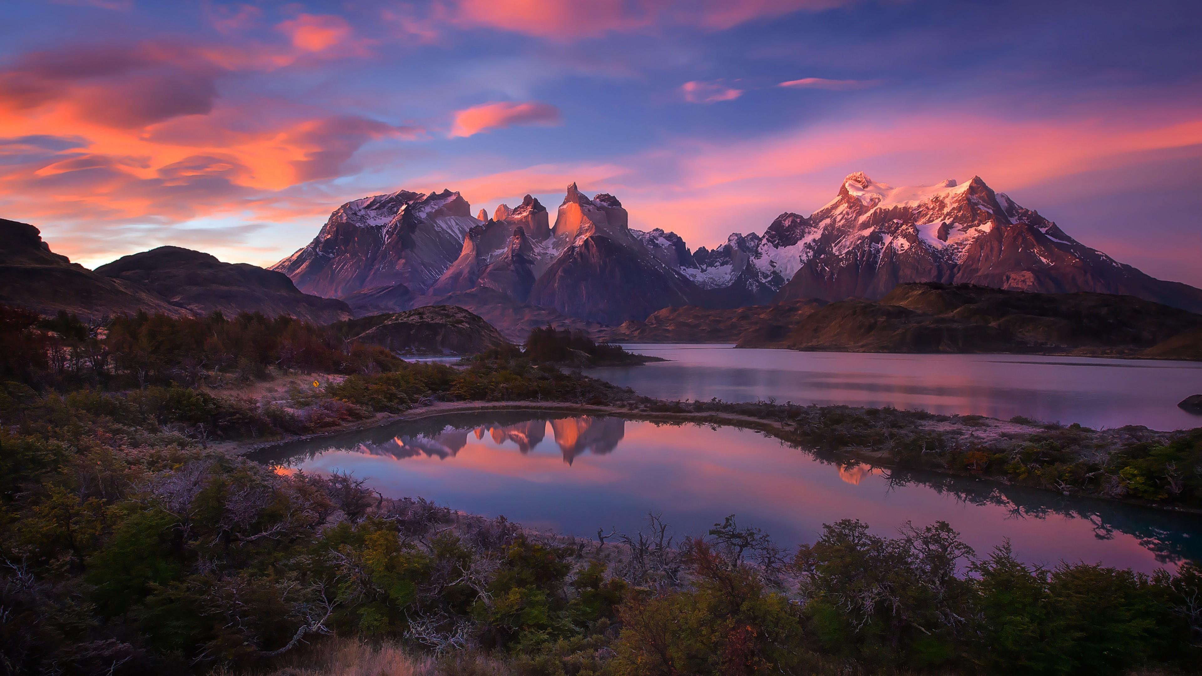 south america patagonia andes mountains lake 1535930205 - South America Patagonia Andes Mountains Lake - world wallpapers, nature wallpapers, mountains wallpapers, lake wallpapers