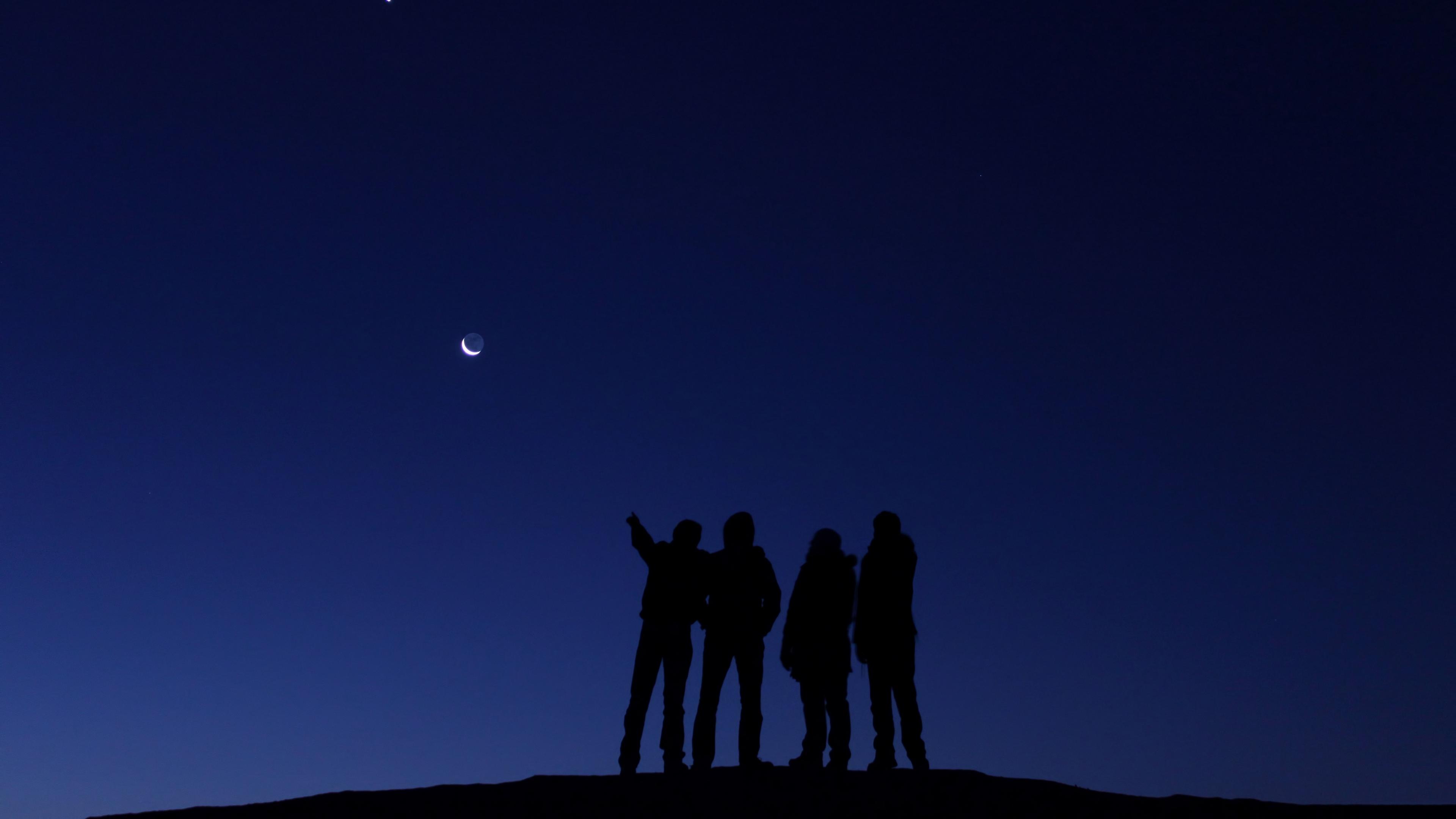 space people venus moon 4k 1536017749 - space, people, venus, moon 4k - venus, Space, People