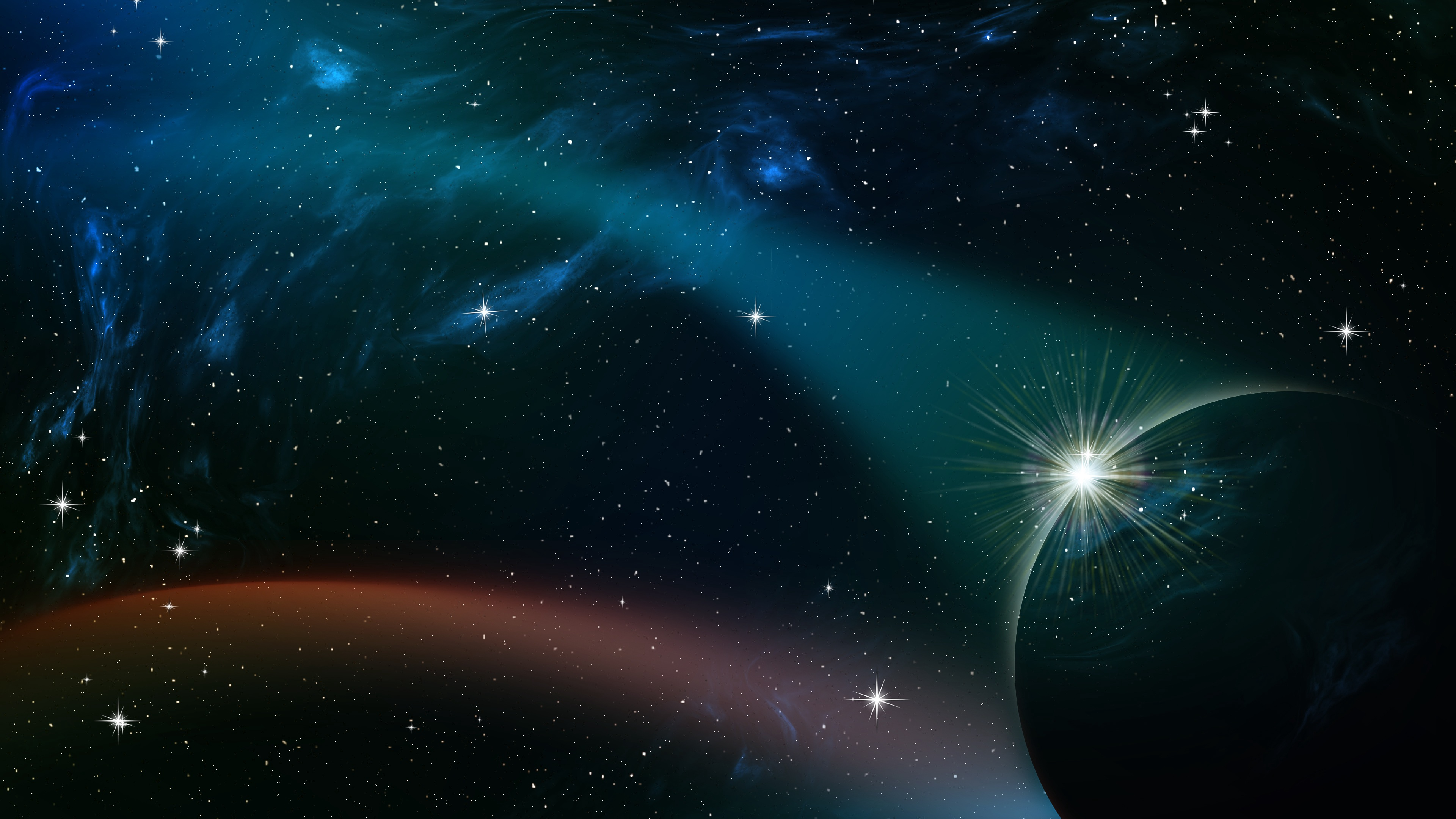 space sky planets stars moons 4k 1536016946 - space, sky, planets, stars, moons 4k - Space, Sky, Planets