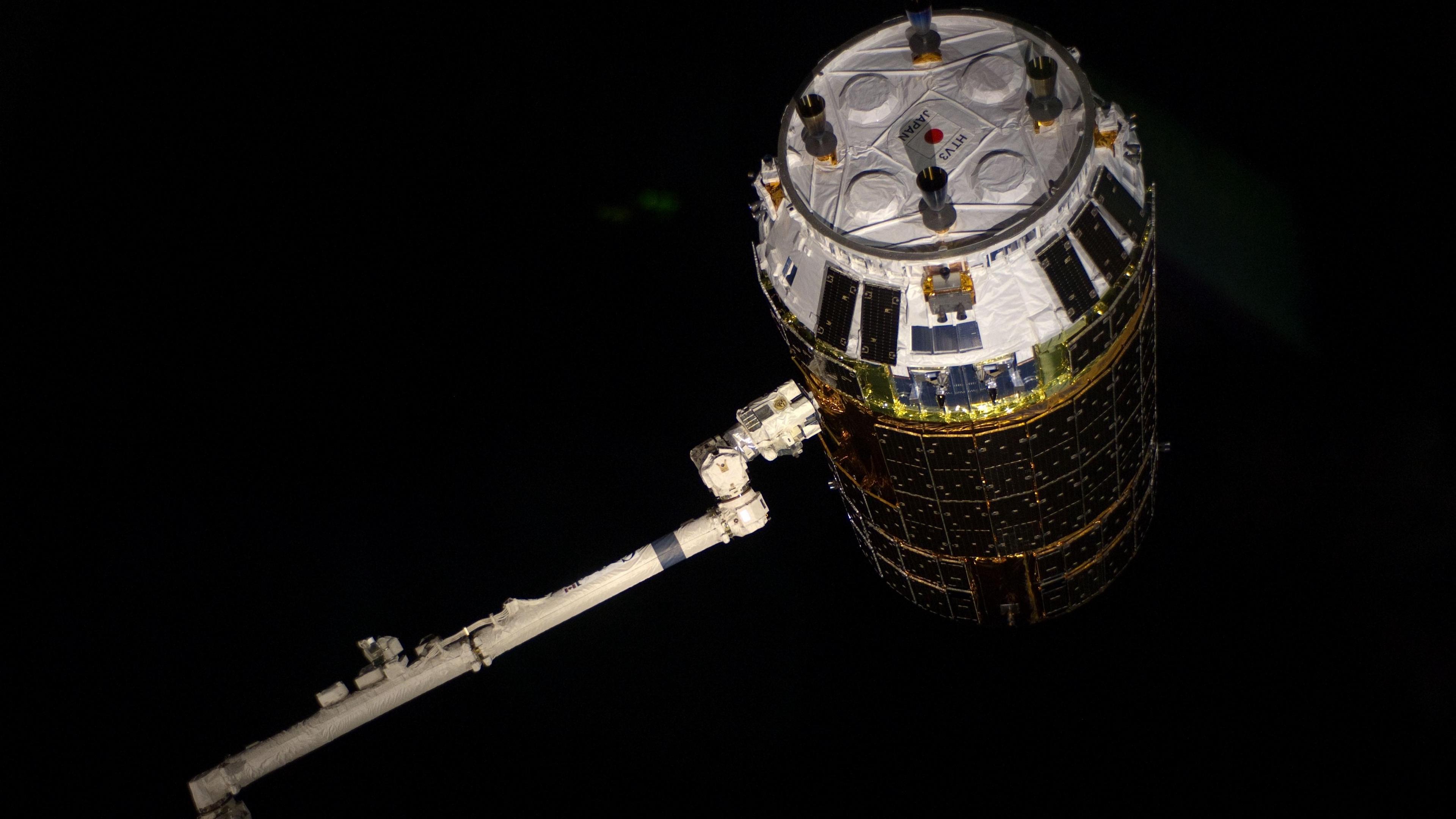 spacecraft kounotori 3 space 4k 1536013722 - spacecraft, kounotori 3, space 4k - spacecraft, Space, kounotori 3