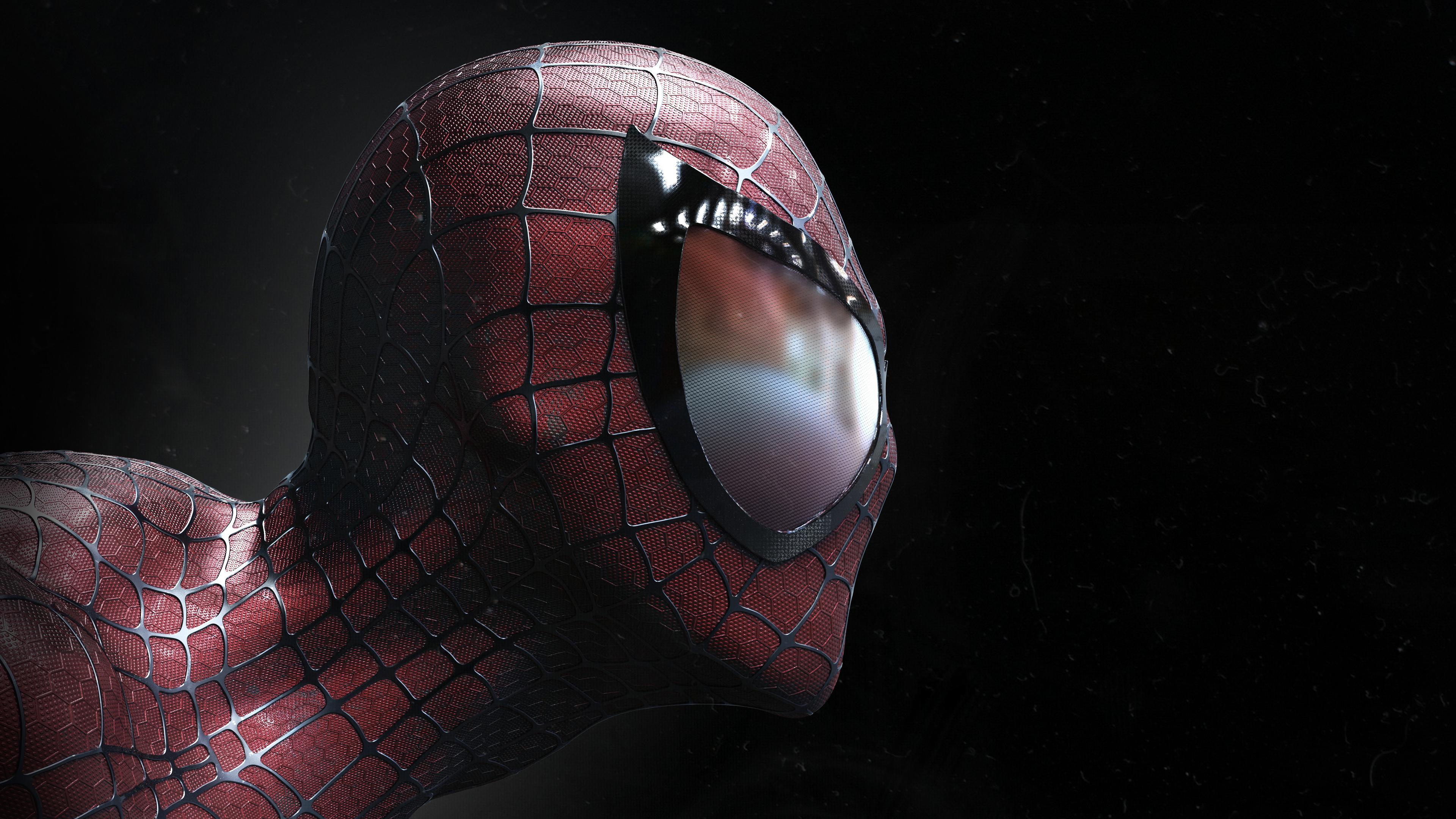 spiderman closeup artwork 1536522674 - Spiderman Closeup Artwork - superheroes wallpapers, spiderman wallpapers, hd-wallpapers, digital art wallpapers, closeup wallpapers, artwork wallpapers, artist wallpapers, 5k wallpapers, 4k-wallpapers