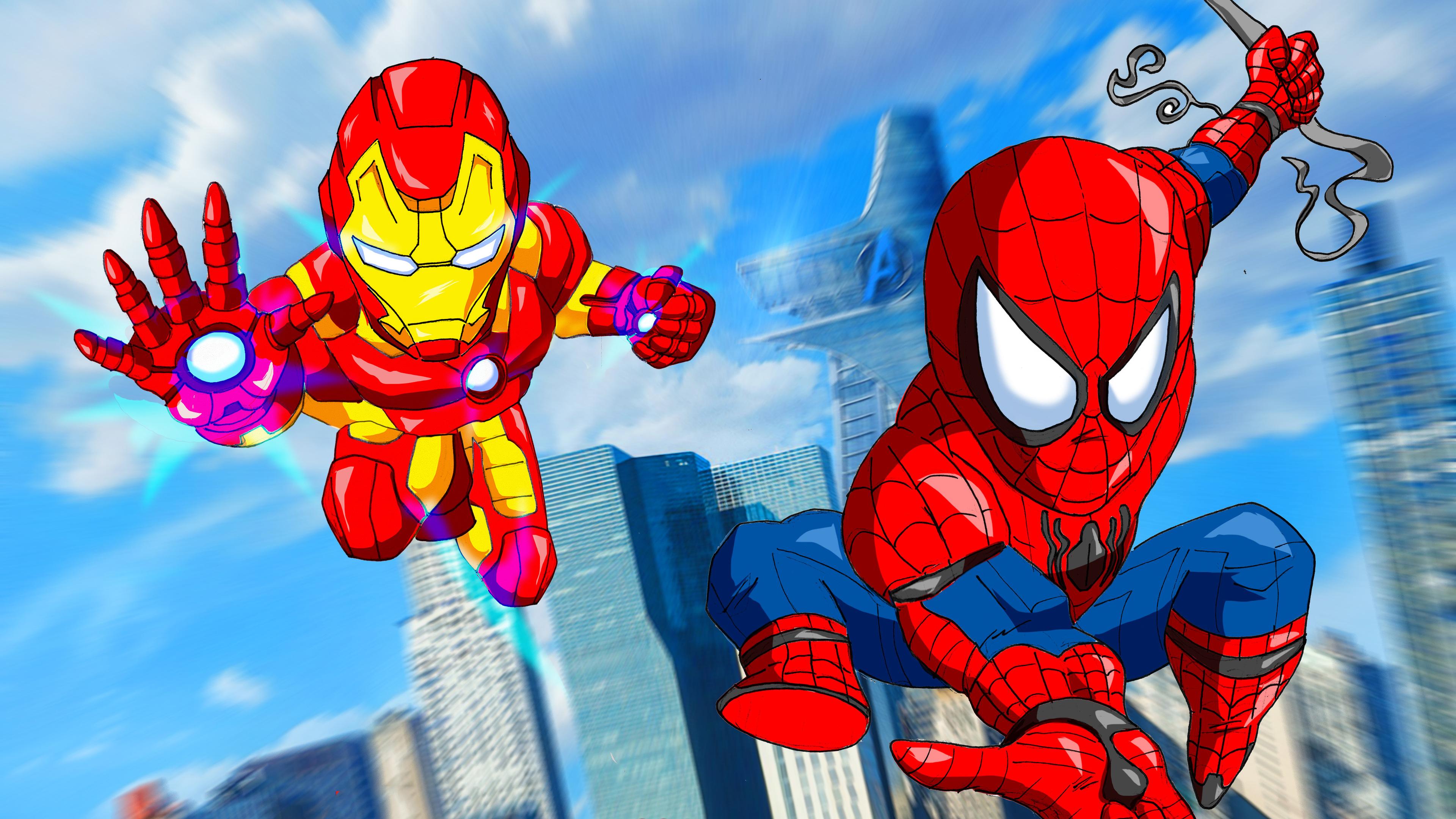 Wallpaper 4k Spiderman Homecoming Movie Art 4k Wallpapers