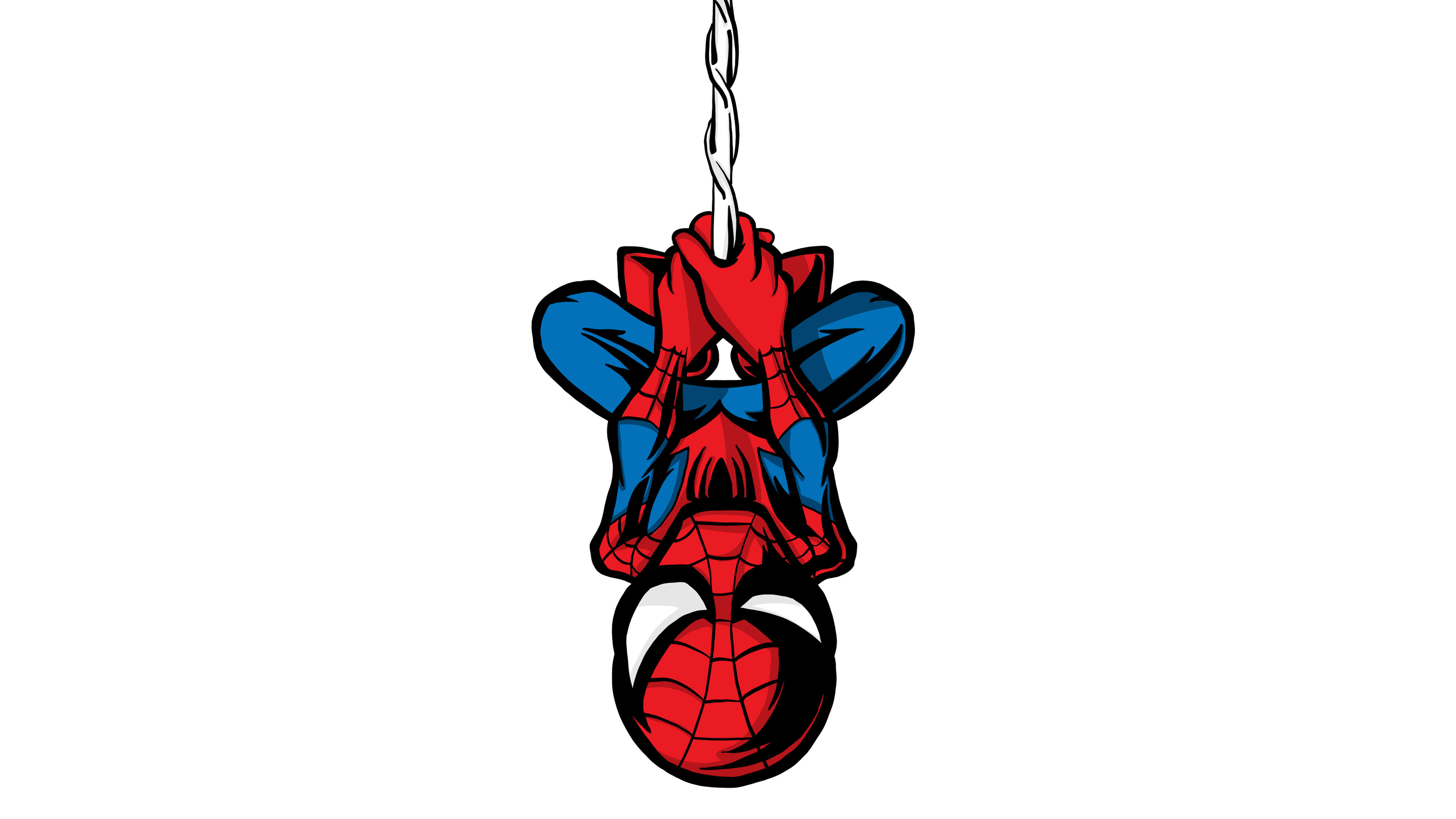 spiderman illustration minimalist 4k 1536522789 - Spiderman Illustration Minimalist 4k - superheroes wallpapers, spiderman wallpapers, illustration wallpapers, hd-wallpapers, digital art wallpapers, behance wallpapers, 4k-wallpapers