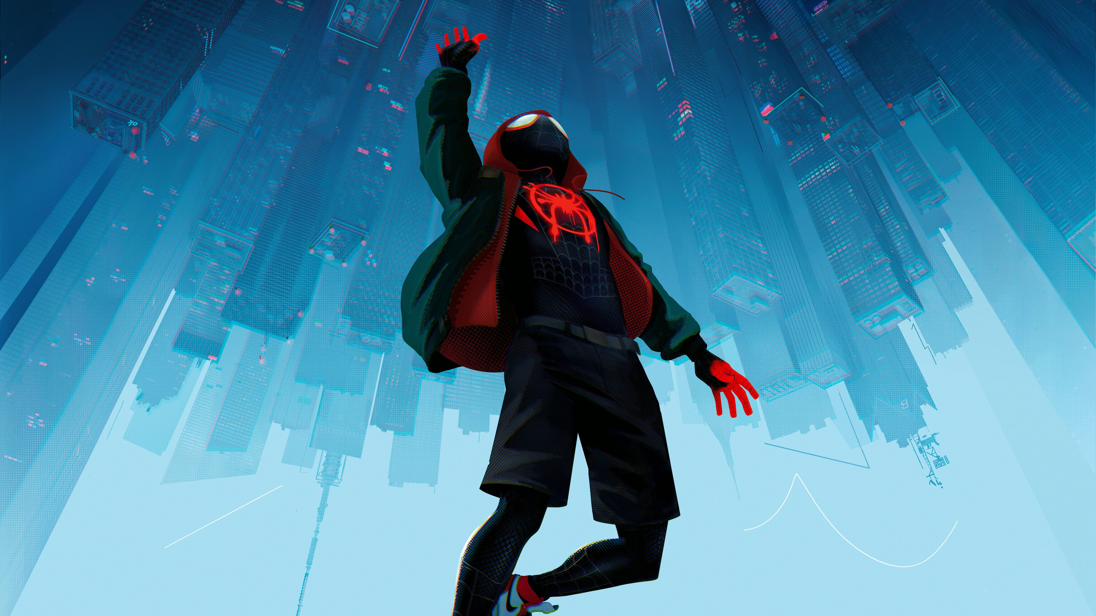 spiderman into the spider verse movie 10k 1537644418 - SpiderMan Into The Spider Verse Movie 10k - spiderman wallpapers, spiderman into the spider verse wallpapers, movies wallpapers, hd-wallpapers, animated movies wallpapers, 8k wallpapers, 5k wallpapers, 4k-wallpapers, 2018-movies-wallpapers, 10k wallpapers