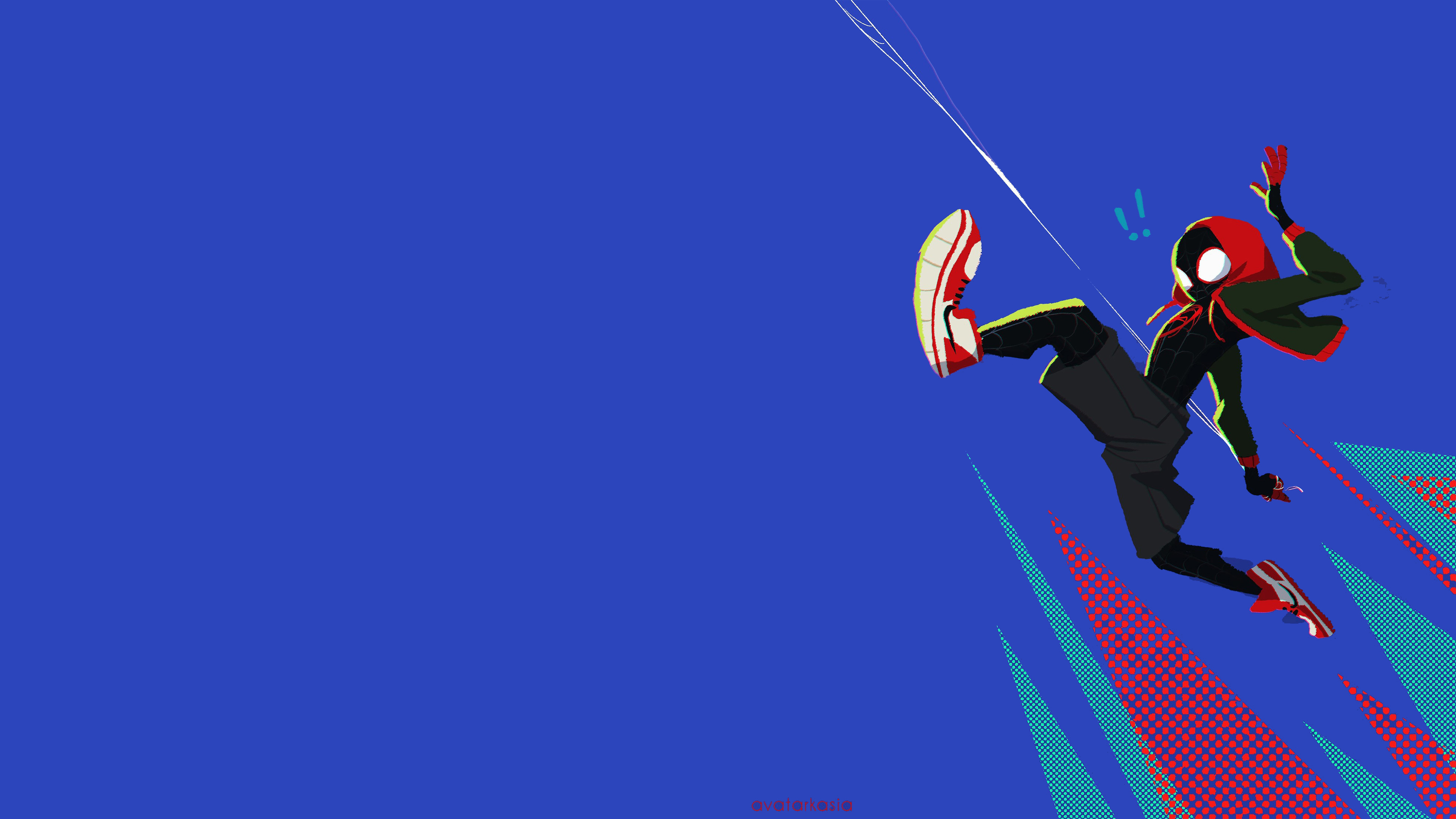 Wallpaper 4k Spiderman Into The Spider Verse Movie 4k 2018 Art 2018