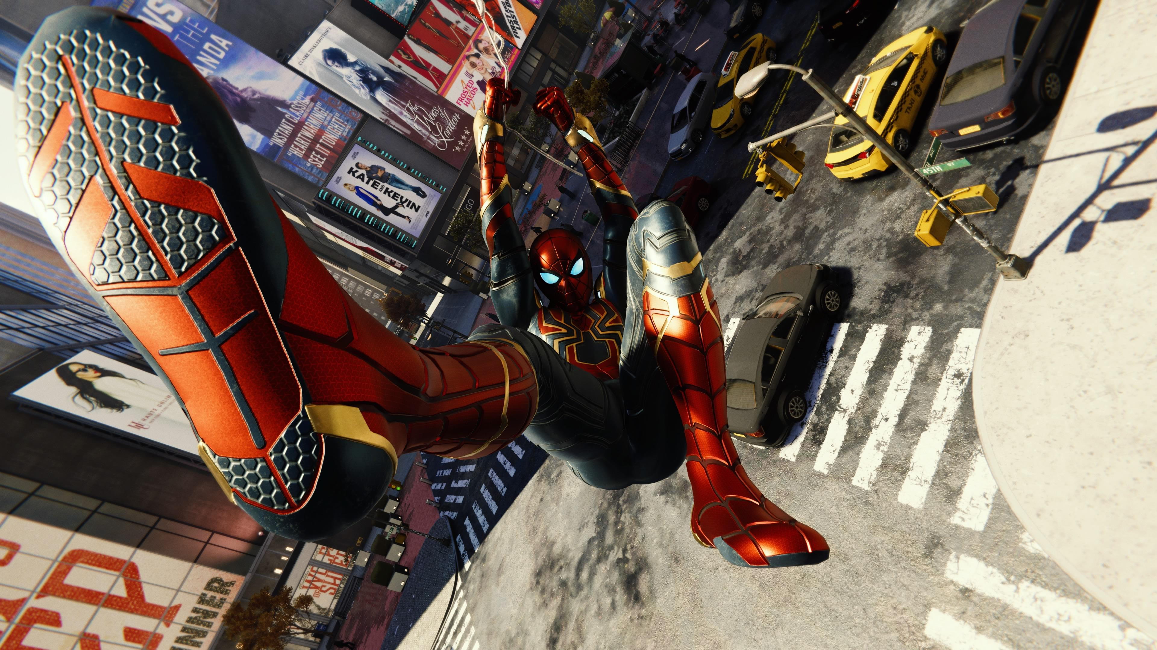 spiderman iron suit shooting web 1537692526 - Spiderman Iron Suit Shooting Web - supervillain wallpapers, spiderman ps4 wallpapers, ps games wallpapers, hd-wallpapers, games wallpapers, 4k-wallpapers, 2018 games wallpapers