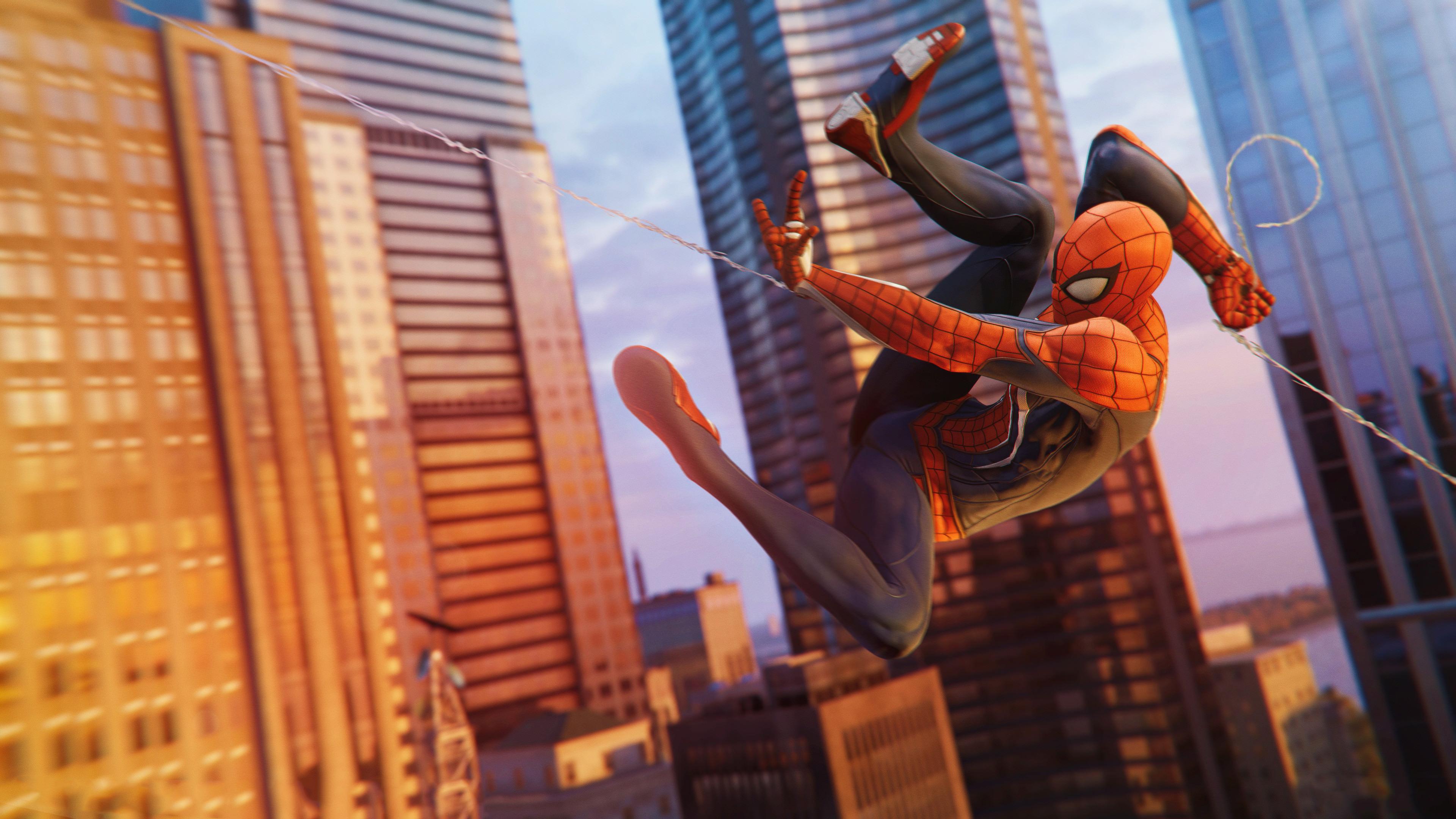spiderman ps4 game 4k 2018 1537691402 - Spiderman Ps4 Game 4k 2018 - superheroes wallpapers, spiderman wallpapers, spiderman ps4 wallpapers, ps games wallpapers, hd-wallpapers, games wallpapers, 4k-wallpapers, 2018 games wallpapers