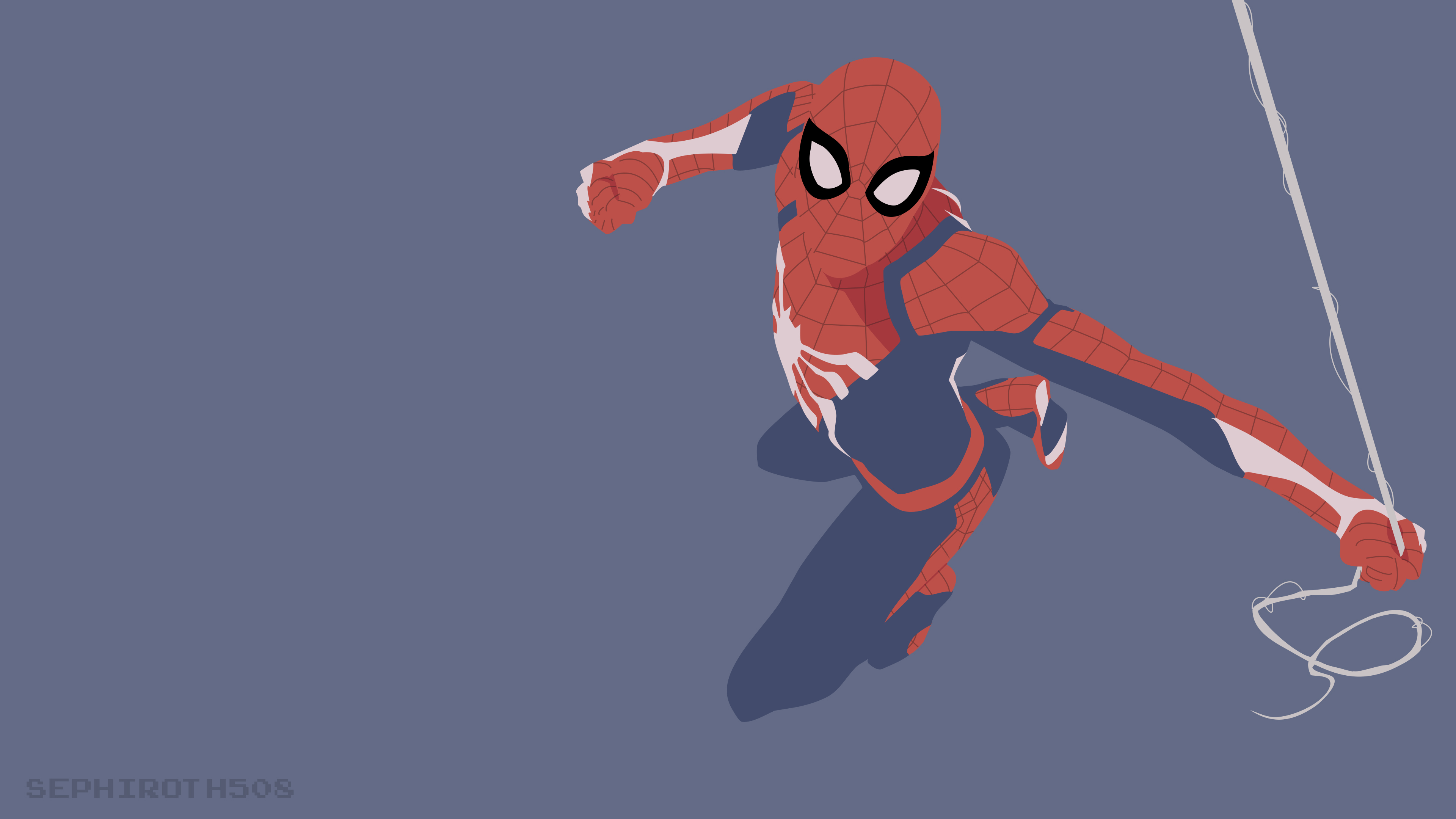 spiderman ps4 minimalist 1536521535 - SpiderMan PS4 Minimalist - superheroes wallpapers, spiderman wallpapers, hd-wallpapers, deviantart wallpapers, artwork wallpapers, artist wallpapers, 4k-wallpapers