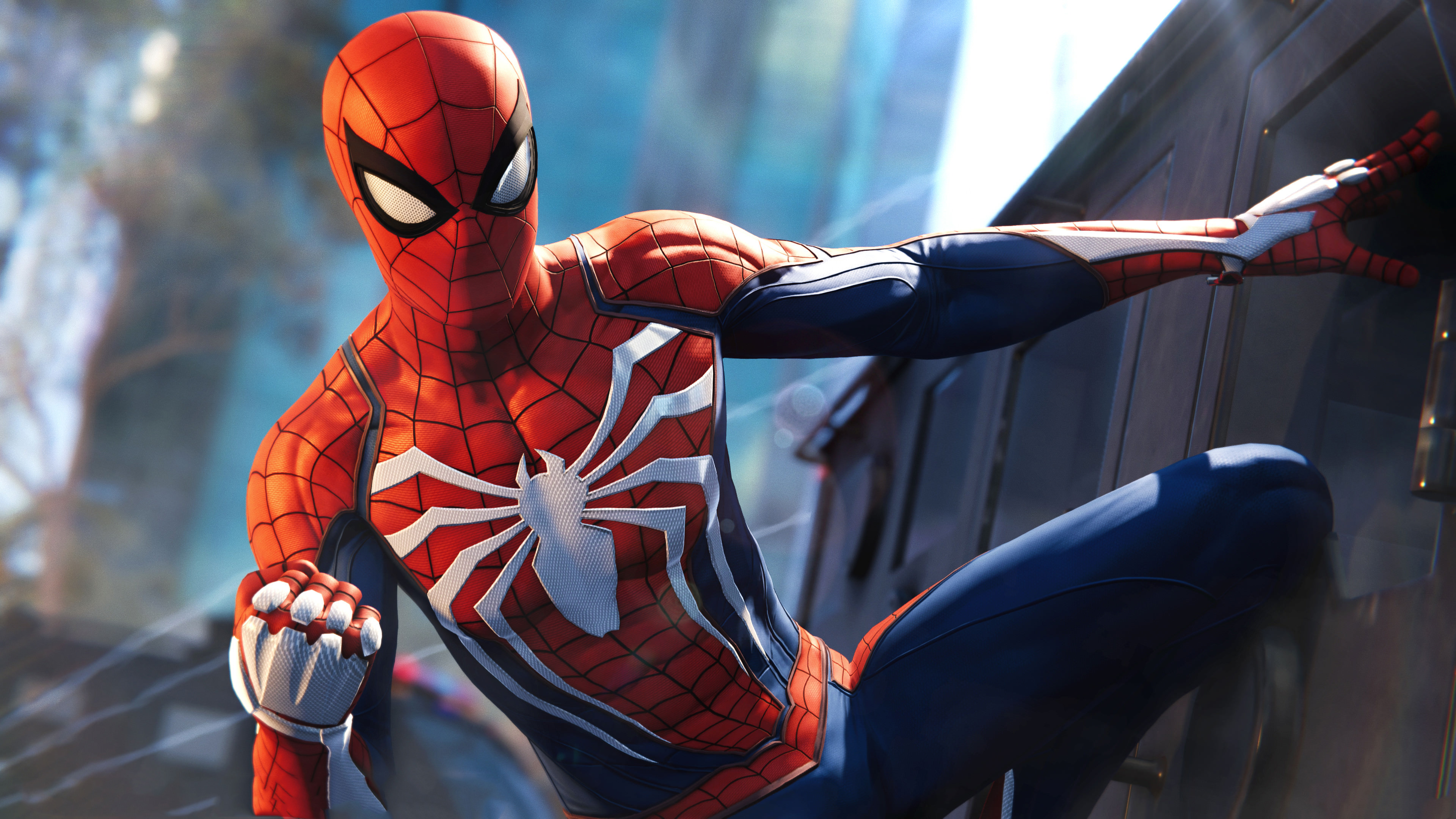 spiderman ps4 pro video game 4k 1537691498 - Spiderman PS4 Pro Video Game 4k - superheroes wallpapers, spiderman wallpapers, spiderman ps4 wallpapers, ps games wallpapers, hd-wallpapers, games wallpapers, 4k-wallpapers, 2018 games wallpapers