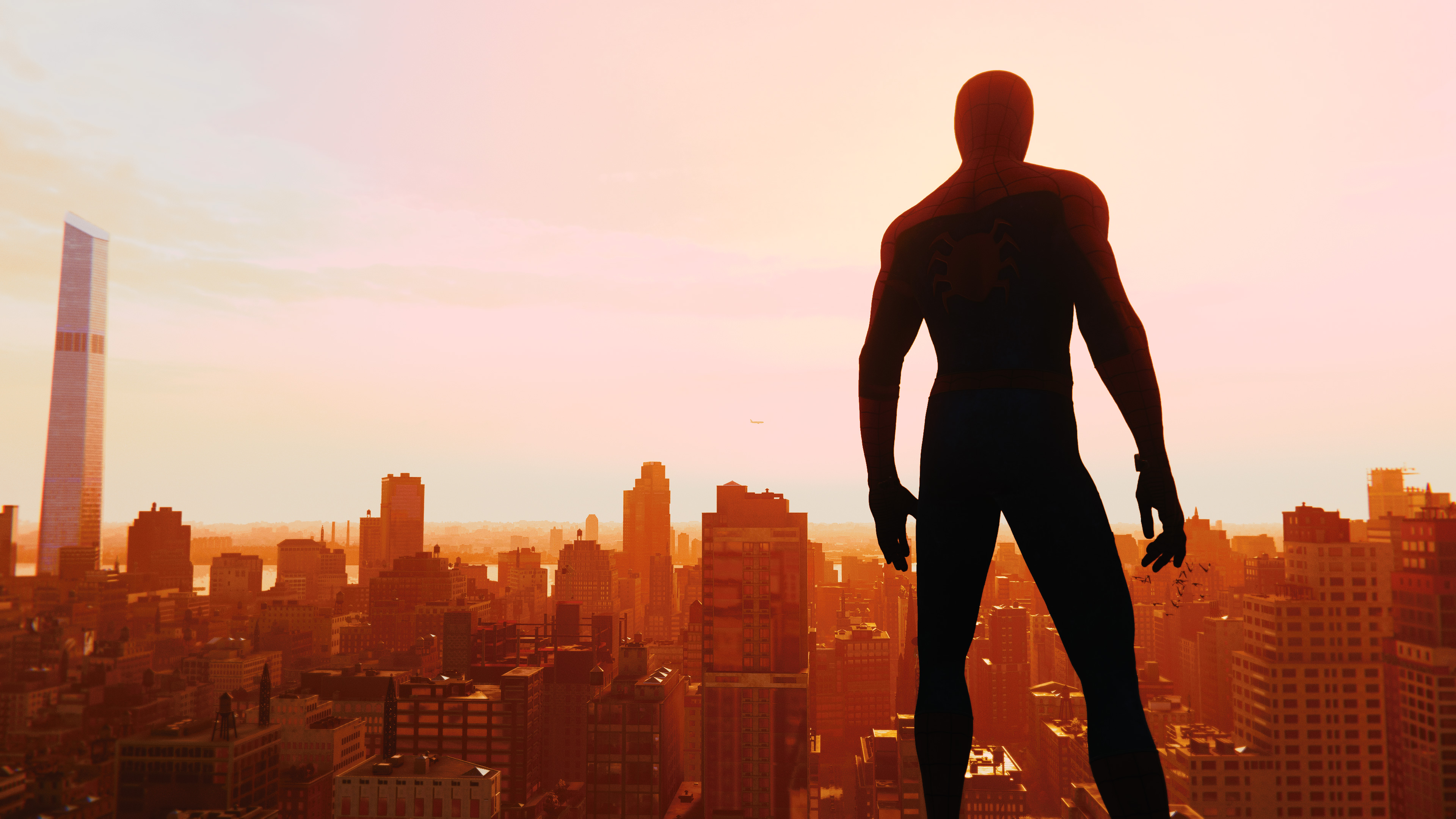 spiderman ps4 skyline 4k 1538343594 - Spiderman Ps4 Skyline 4k - superheroes wallpapers, spiderman wallpapers, spiderman ps4 wallpapers, reddit wallpapers, ps games wallpapers, hd-wallpapers, games wallpapers, 4k-wallpapers, 2018 games wallpapers