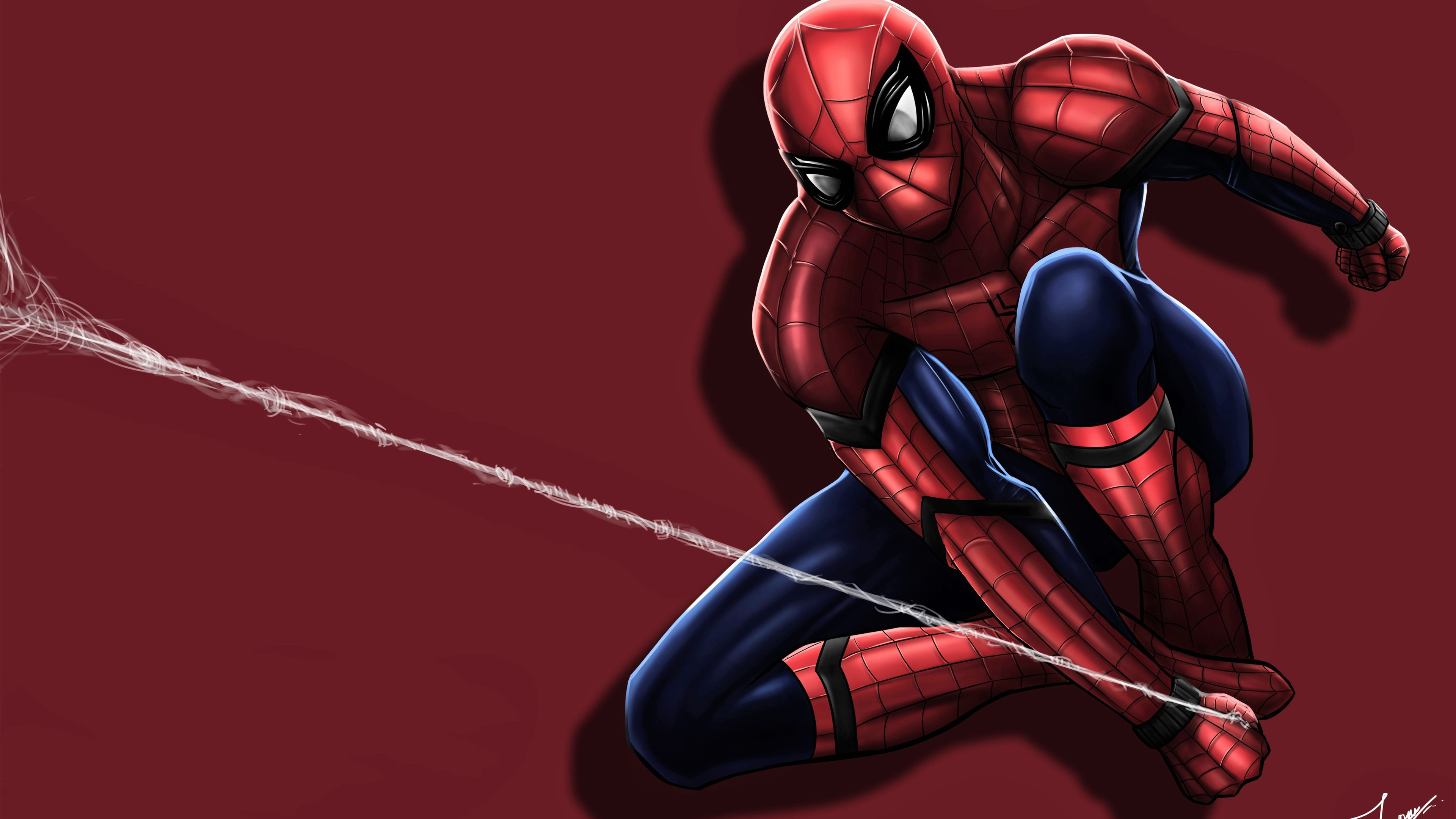 spiderman shooting his web 1536522652 - Spiderman Shooting His Web - superheroes wallpapers, spiderman wallpapers, hd-wallpapers, digital art wallpapers, deviantart wallpapers, artwork wallpapers, artist wallpapers, 5k wallpapers, 4k-wallpapers