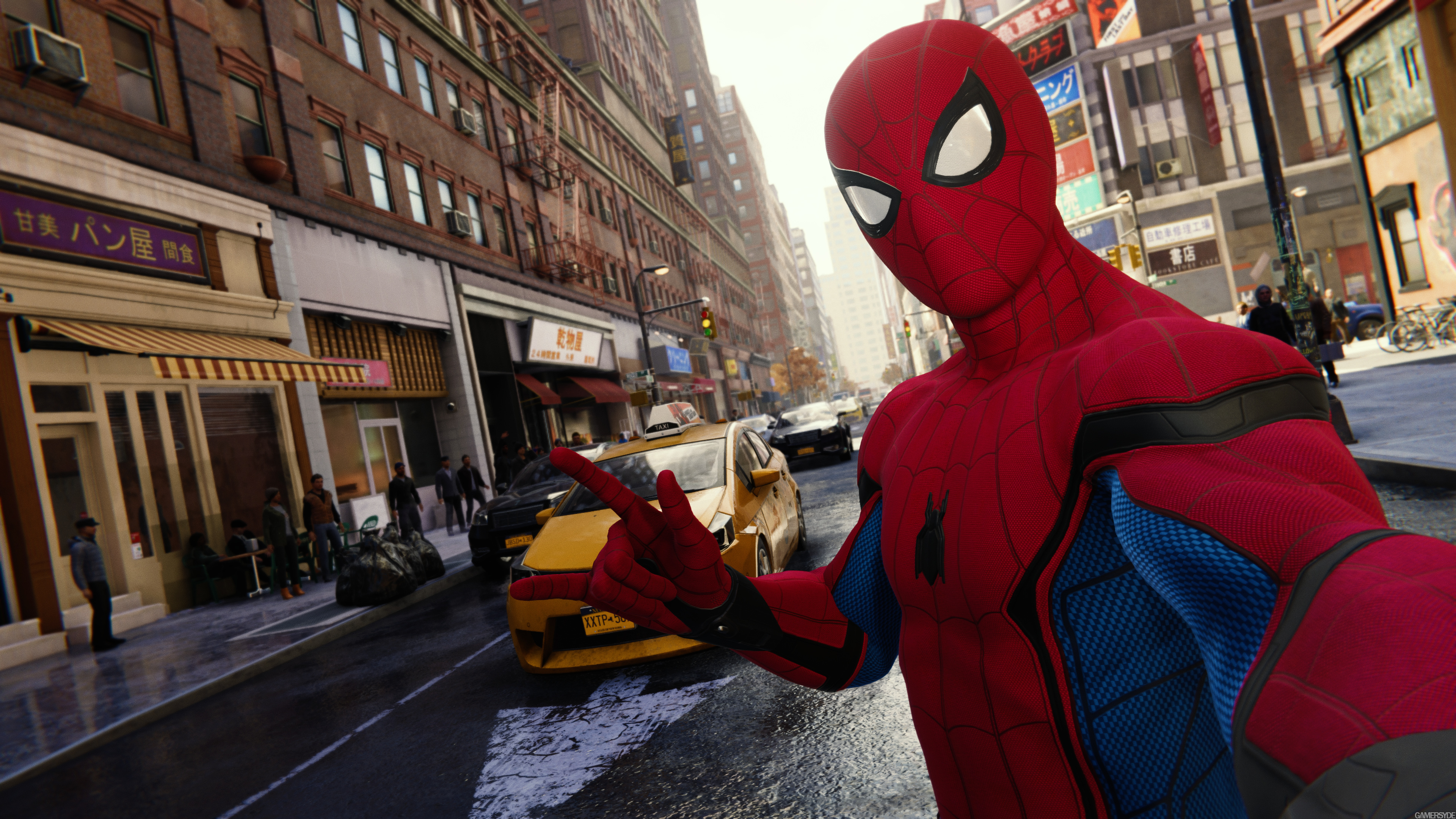 spiderman taking selfie ps4 2018 1537692366 - Spiderman Taking Selfie Ps4 2018 - spiderman wallpapers, spiderman ps4 wallpapers, ps games wallpapers, hd-wallpapers, games wallpapers, 4k-wallpapers, 2018 games wallpapers