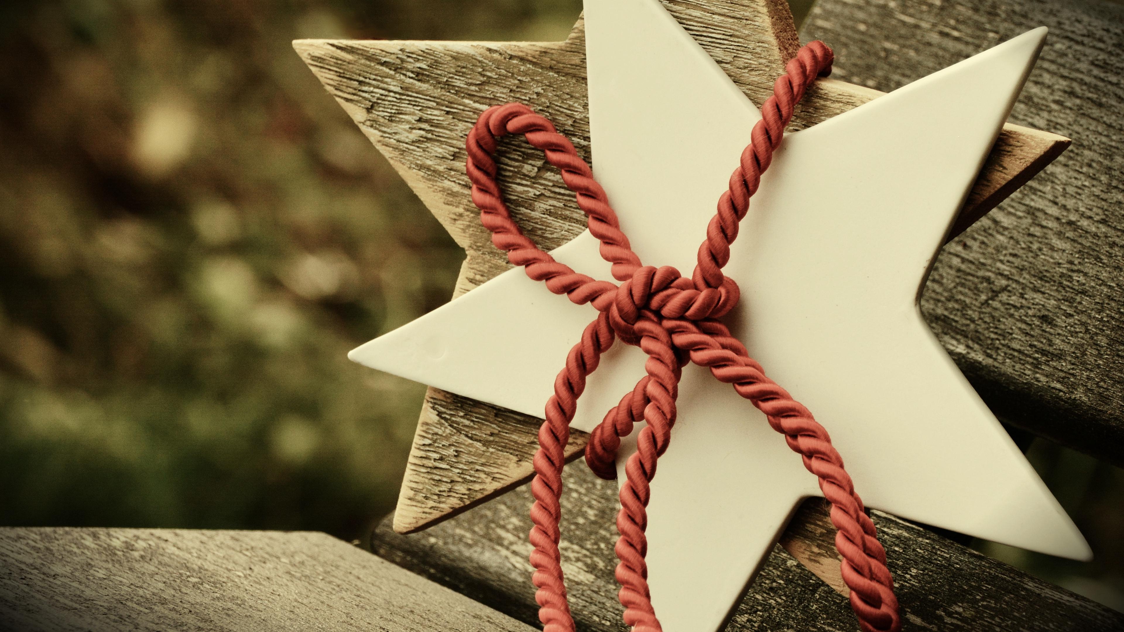 star rope christmas 4k 1538345113 - star, rope, christmas 4k - Star, rope, Christmas