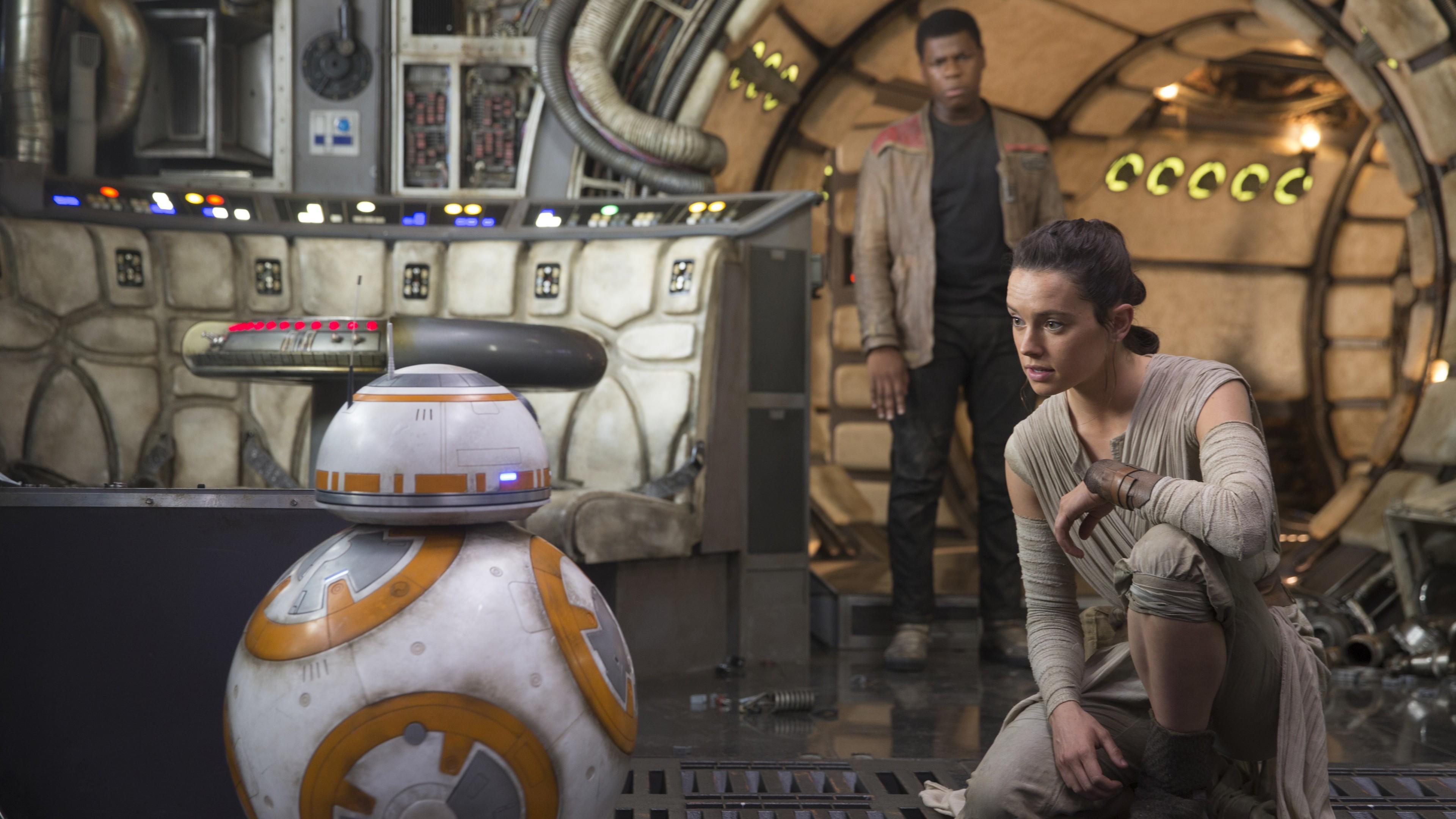 Wallpaper 4k Star Wars Episode Vii The Force Awakens Movie