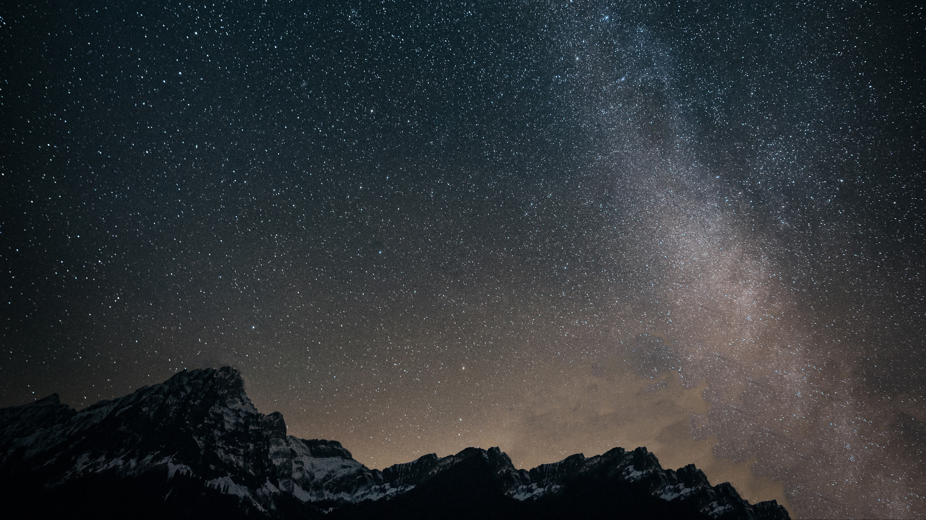 starry sky mountains milky way 4k 1536016907 - starry sky, mountains, milky way 4k - starry sky, Mountains, milky way