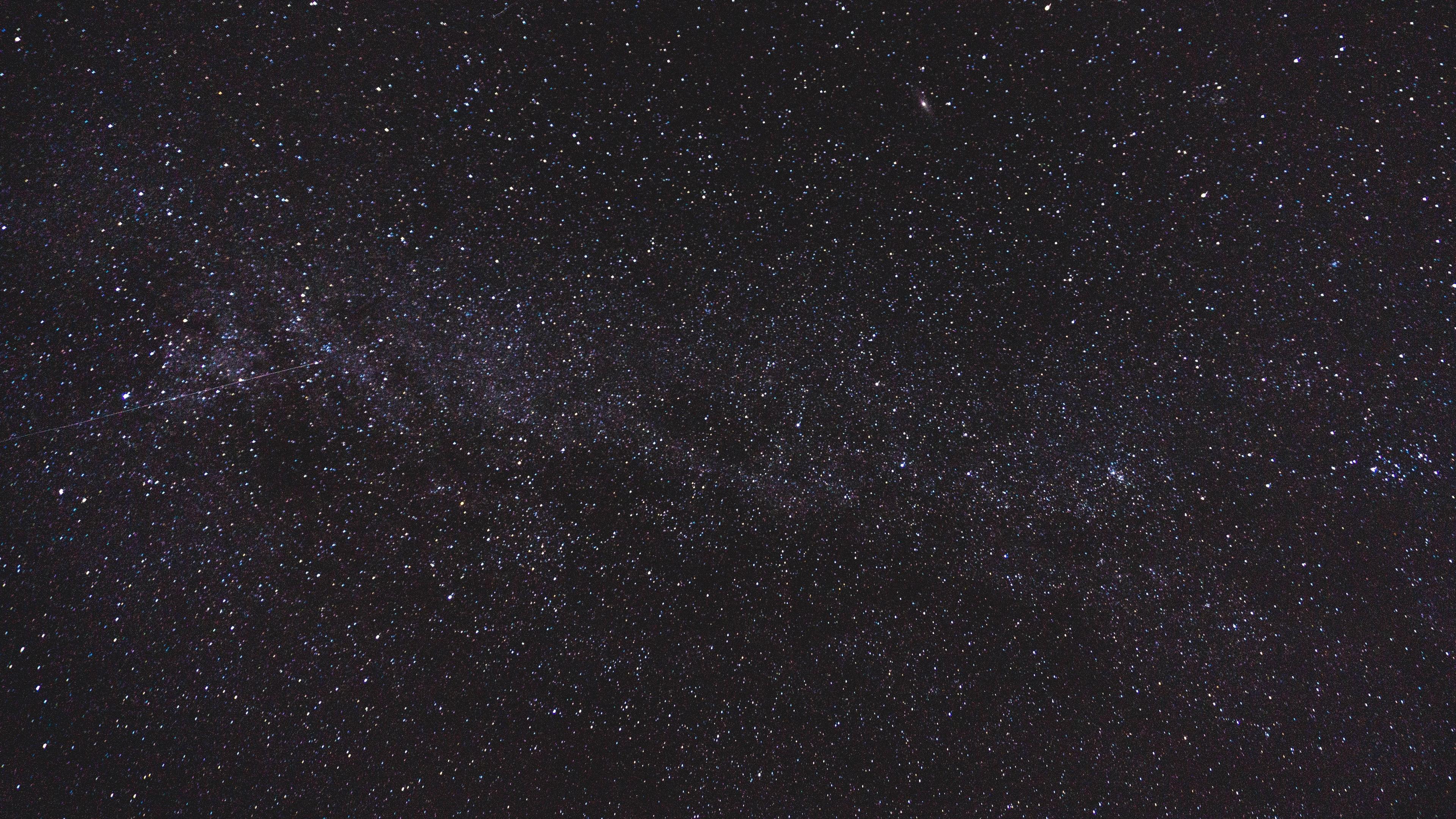 starry sky shine dark radiance 4k 1536016614 - starry sky, shine, dark, radiance 4k - starry sky, Shine, Dark