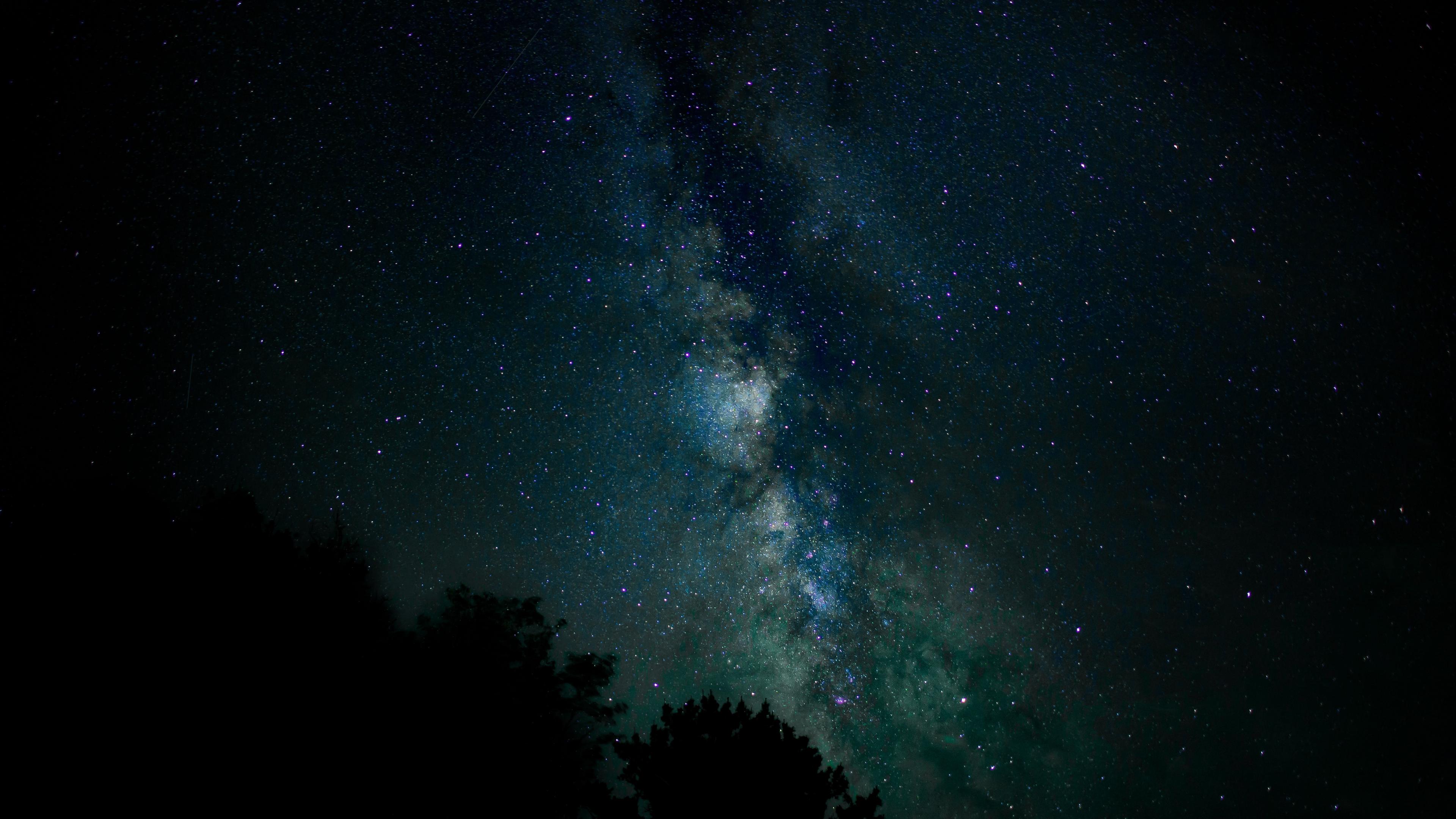 starry sky stars milky way night 4k 1536016940 - starry sky, stars, milky way, night 4k - Stars, starry sky, milky way