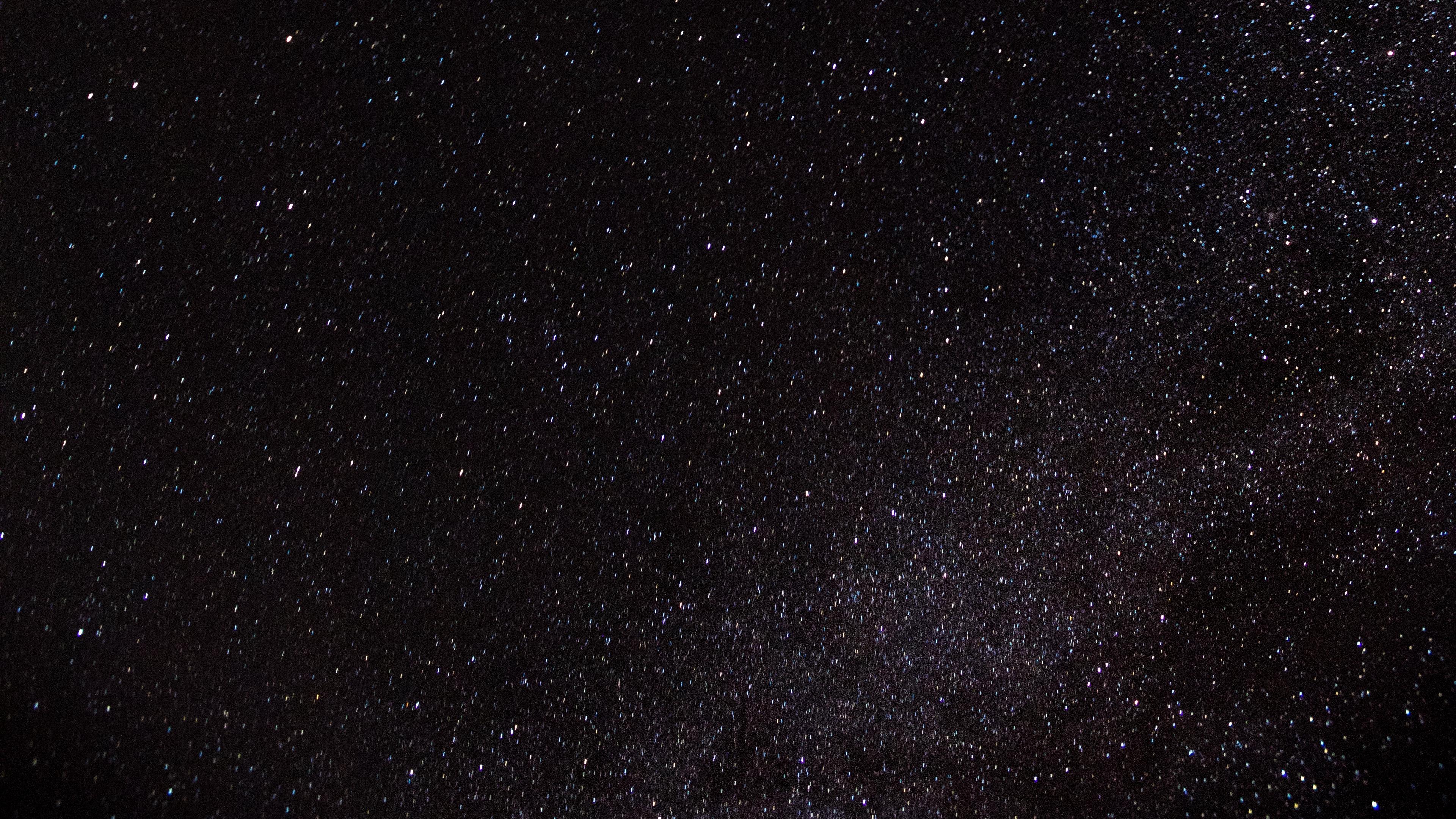 starry sky stars night glitter dark 4k 1536016633 - starry sky, stars, night, glitter, dark 4k - Stars, starry sky, Night