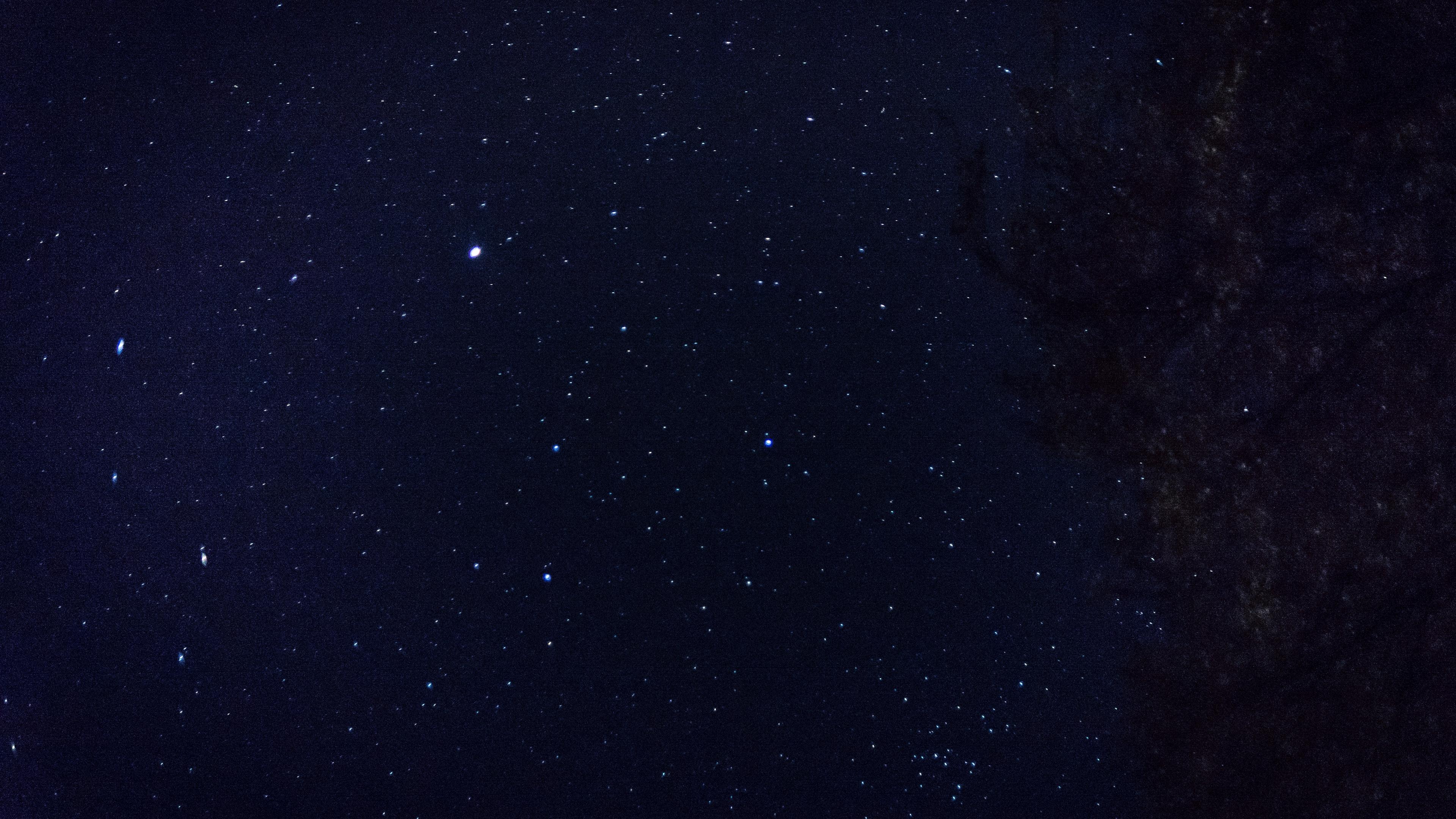 starry sky stars space 4k 1536013813 - starry sky, stars, space 4k - Stars, starry sky, Space
