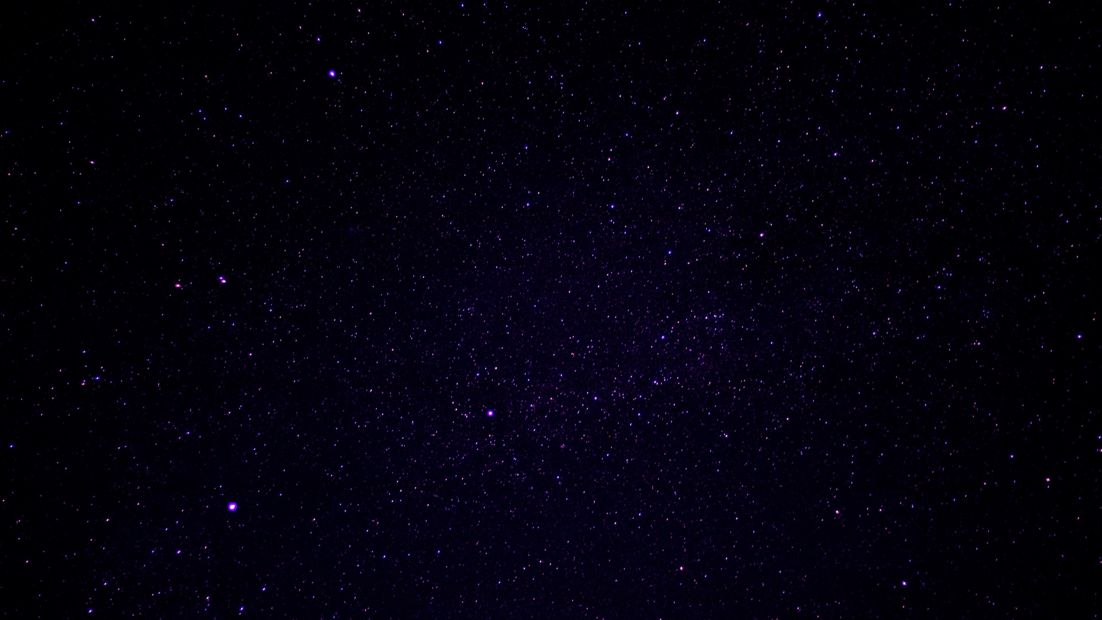starry sky stars universe violet 4k 1536016188 - starry sky, stars, universe, violet 4k - Universe, Stars, starry sky