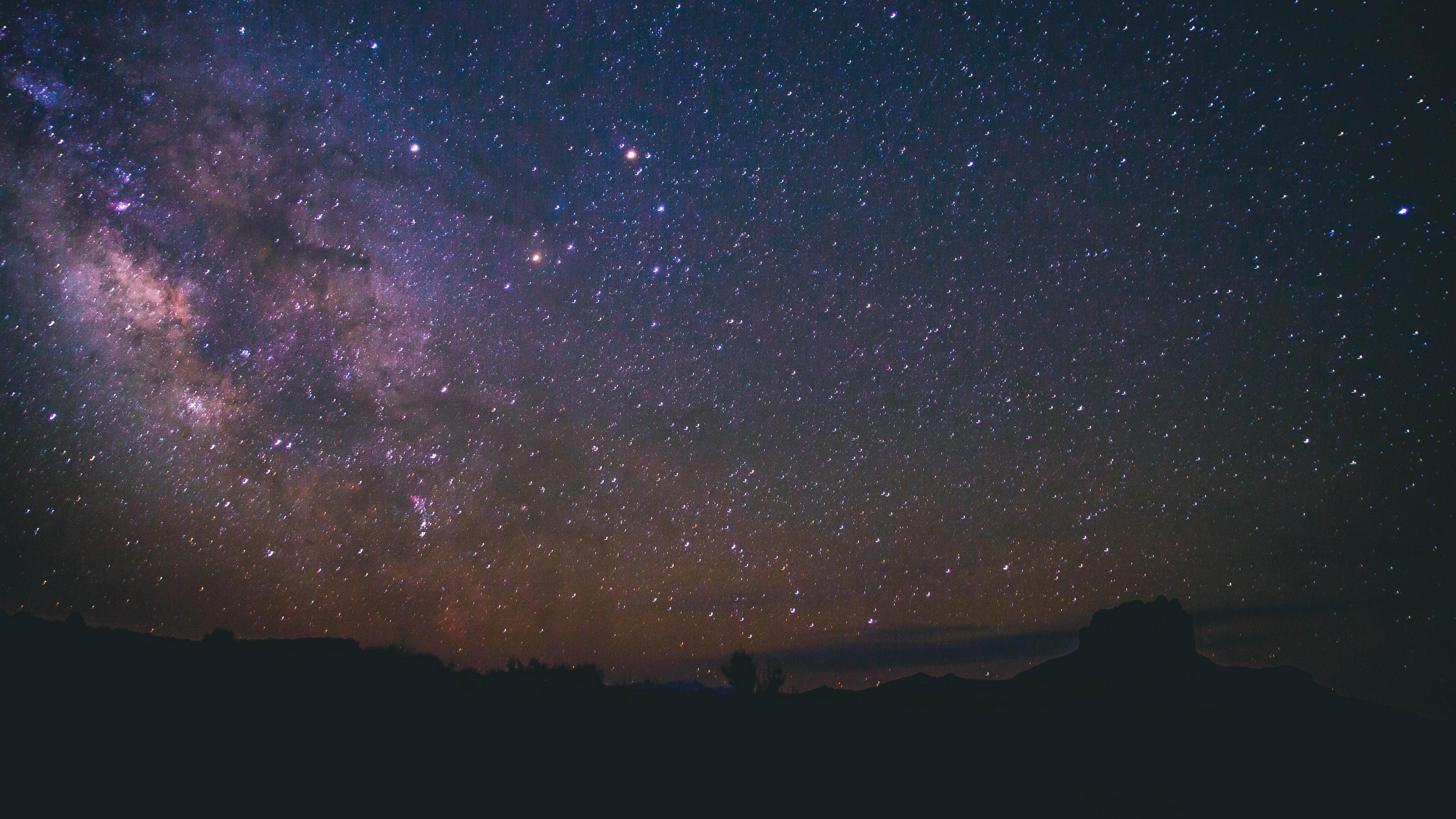 starry sky universe galaxy 4k 1536017104 - starry sky, universe, galaxy 4k - Universe, starry sky, Galaxy