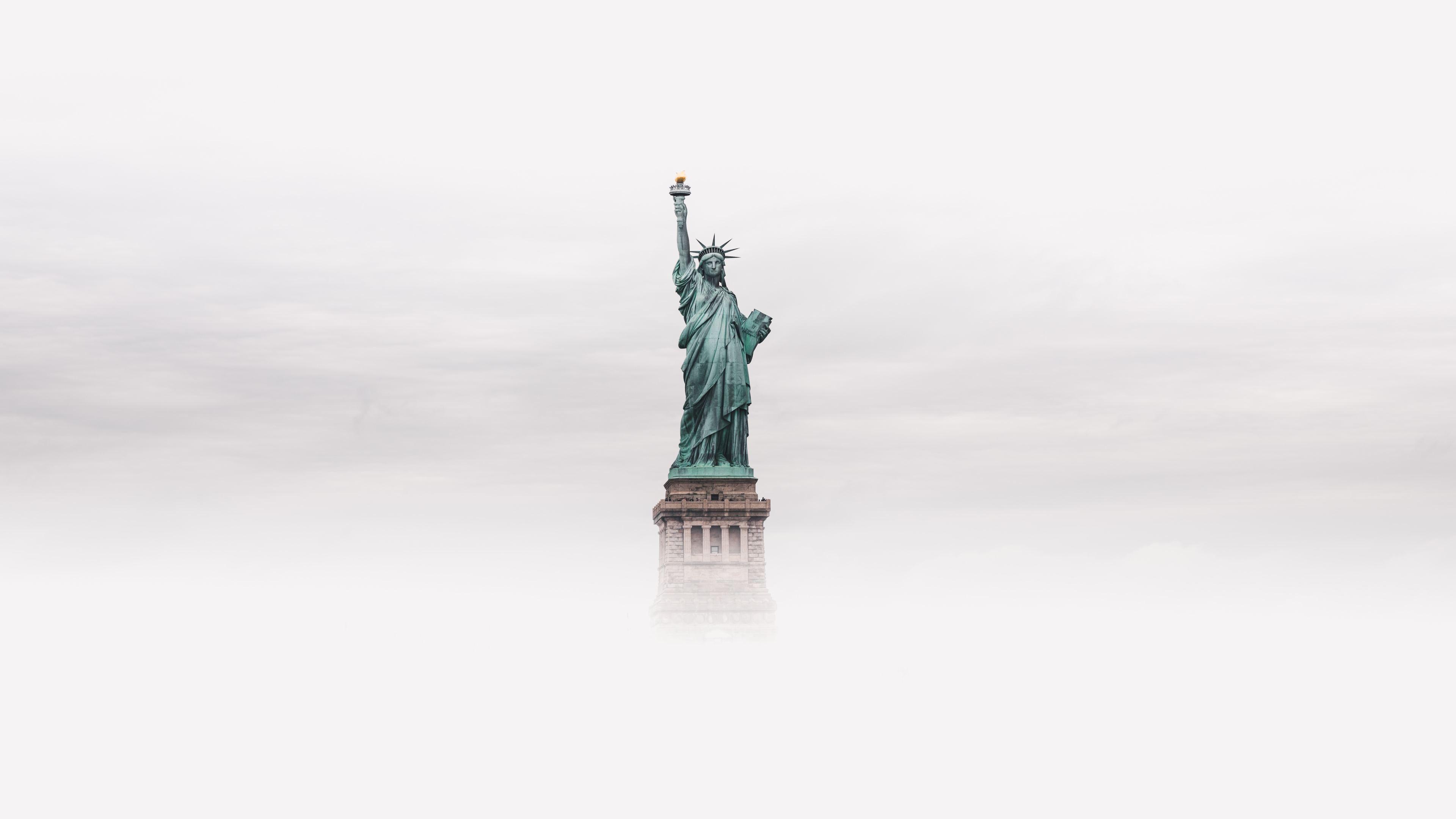 statue of liberty 8k 1538072032 - Statue Of Liberty 8k - world wallpapers, statue of liberty wallpapers, new york wallpapers, hd-wallpapers, clouds wallpapers, 8k wallpapers, 5k wallpapers, 4k-wallpapers