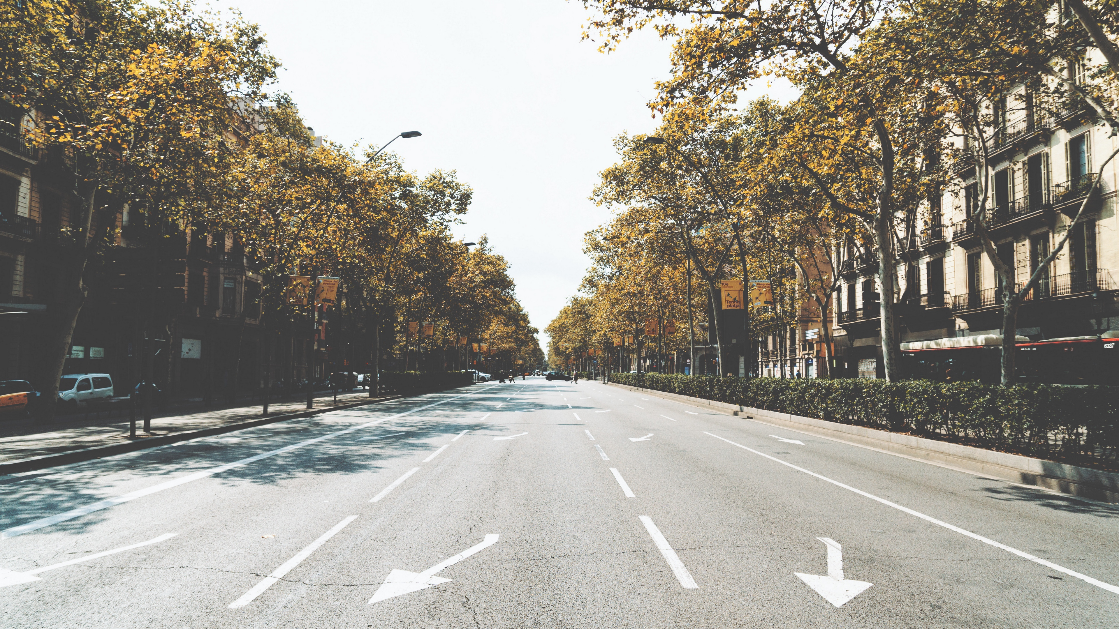 street city road marking 4k 1538068885 - street, city, road, marking 4k - Street, Road, City