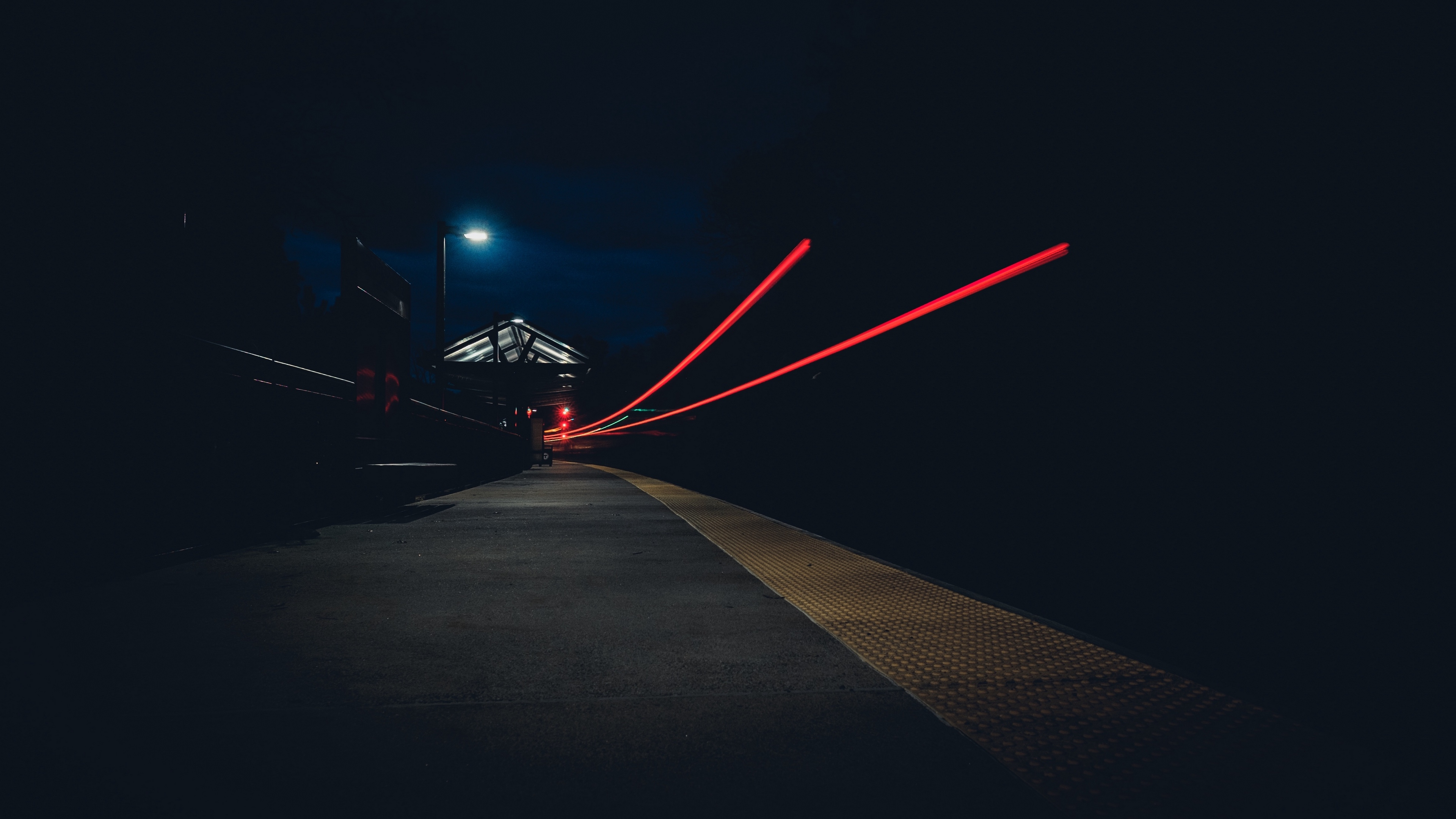 street light night 4k 1538068024 - street, light, night 4k - Street, Night, Light