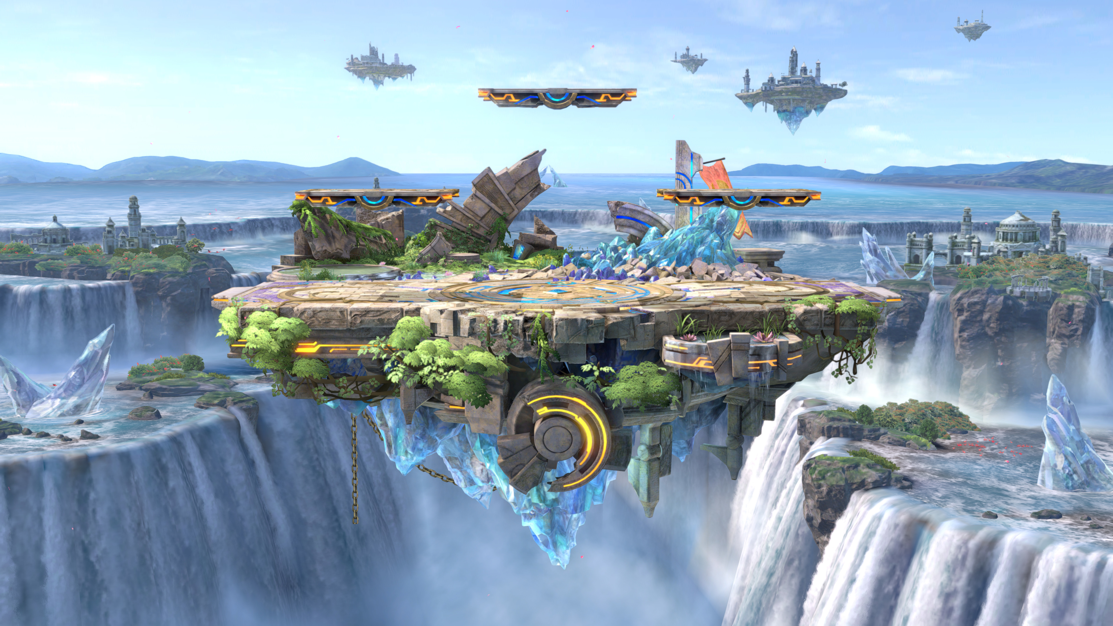 Wallpaper 4k Super Smash Bros Ultimate Artwork 5k 2018 Games