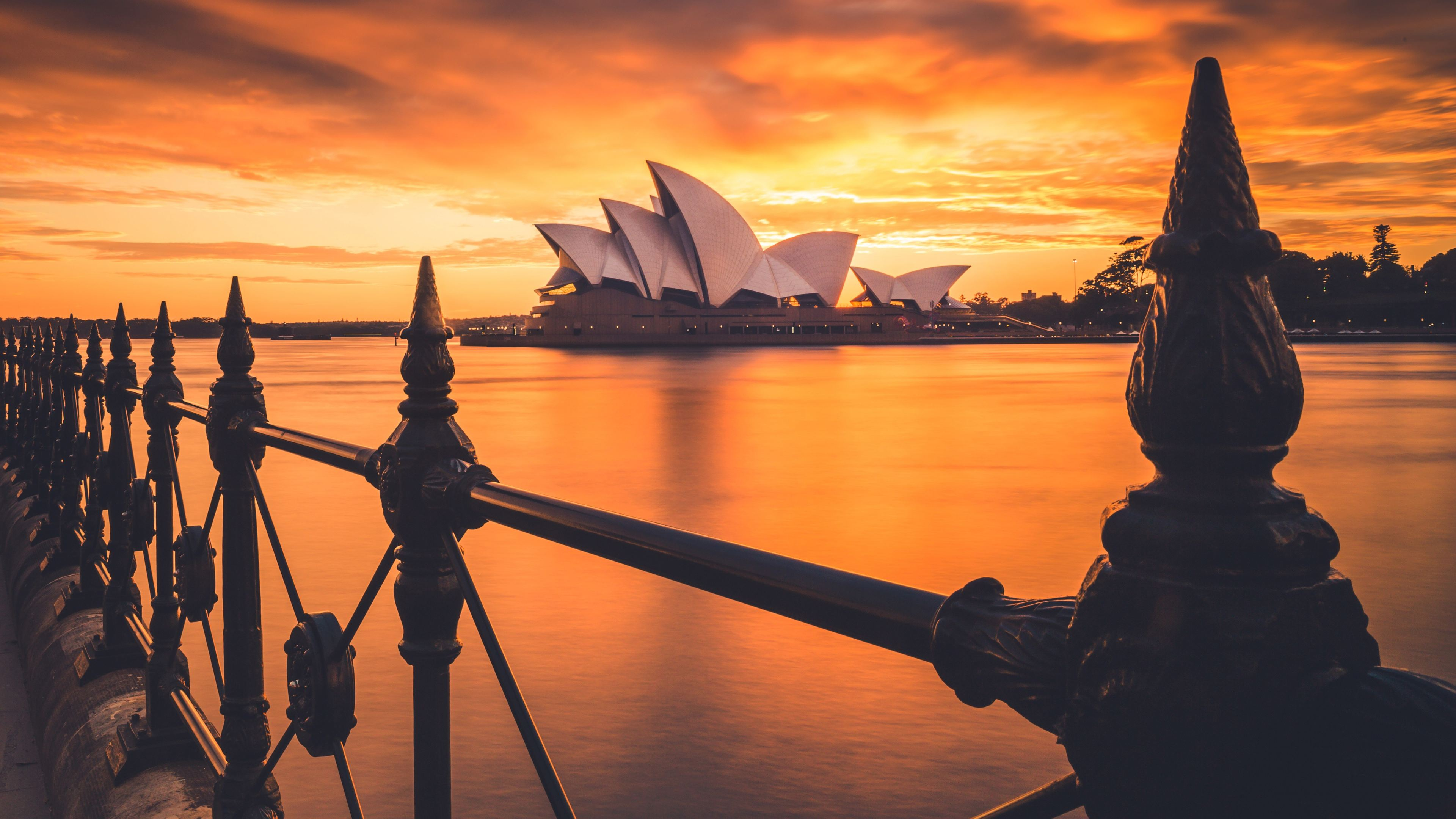 sydney opera house 4k 1538069320 - Sydney Opera House 4k - world wallpapers, sydney wallpapers, sydney opera house wallpapers, hd-wallpapers, australia wallpapers, 4k-wallpapers