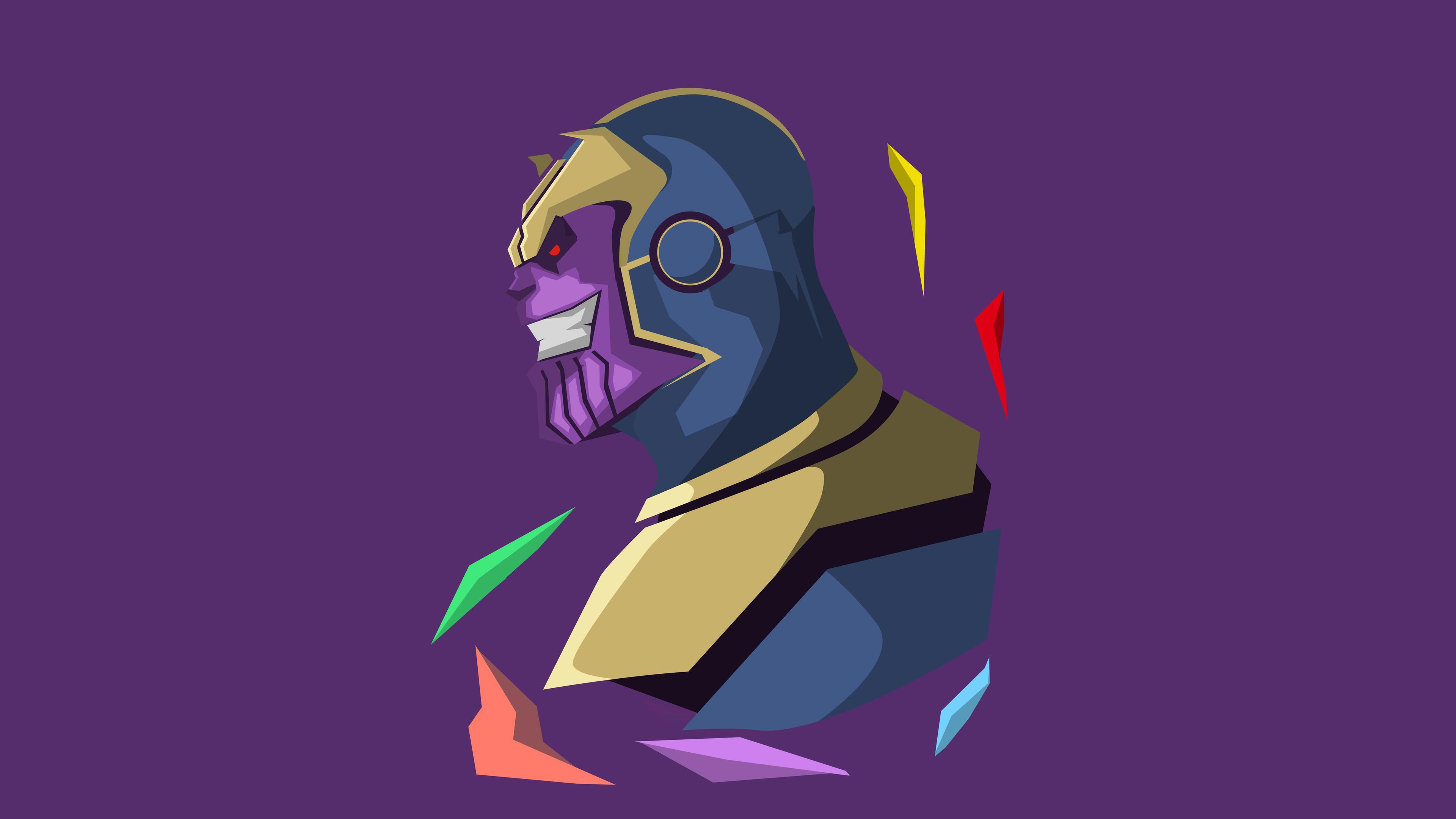 thanos 5k minimalistic 1536523889 - Thanos 5k Minimalistic - thanos-wallpapers, superheroes wallpapers, minimalist wallpapers, minimalism wallpapers, hd-wallpapers, 5k wallpapers, 4k-wallpapers