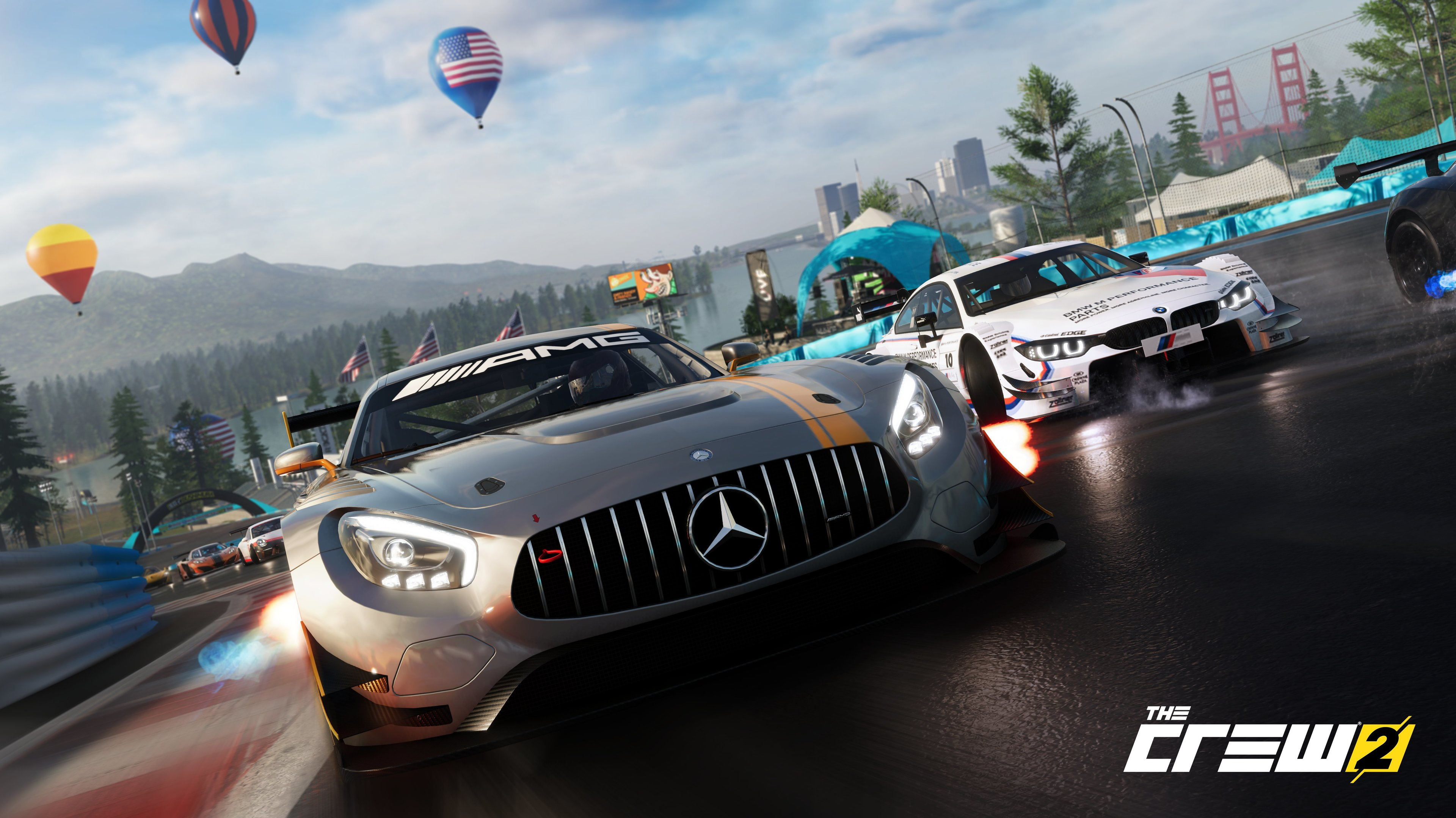 Wallpaper 4k The Crew 2 Mercedes Amg Cars 5k 4k Wallpapers