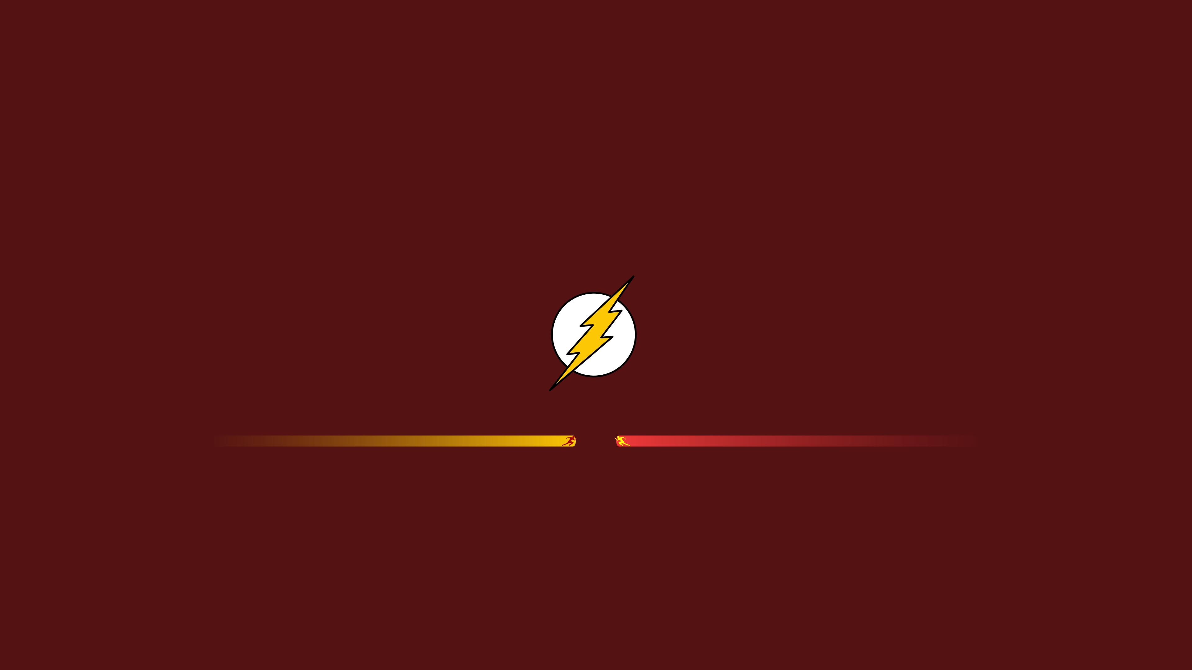 Wallpaper 4k The Flash And Reverse Flash Minimalism 4k Wallpapers