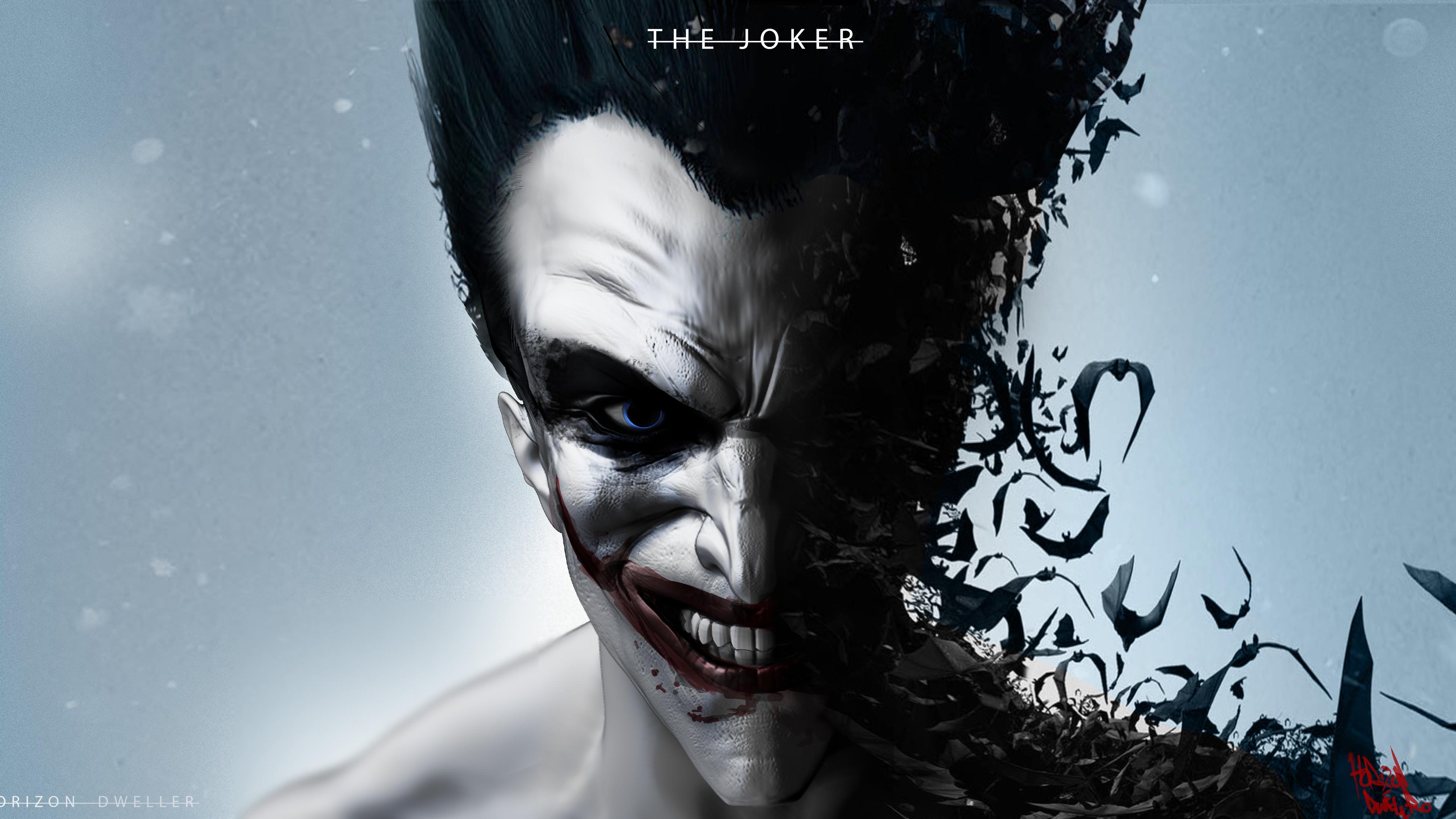 the joker 1536522545 - The Joker - supervillain wallpapers, superheroes wallpapers, joker wallpapers, hd-wallpapers, digital art wallpapers, deviantart wallpapers, artwork wallpapers, artist wallpapers, 5k wallpapers, 4k-wallpapers