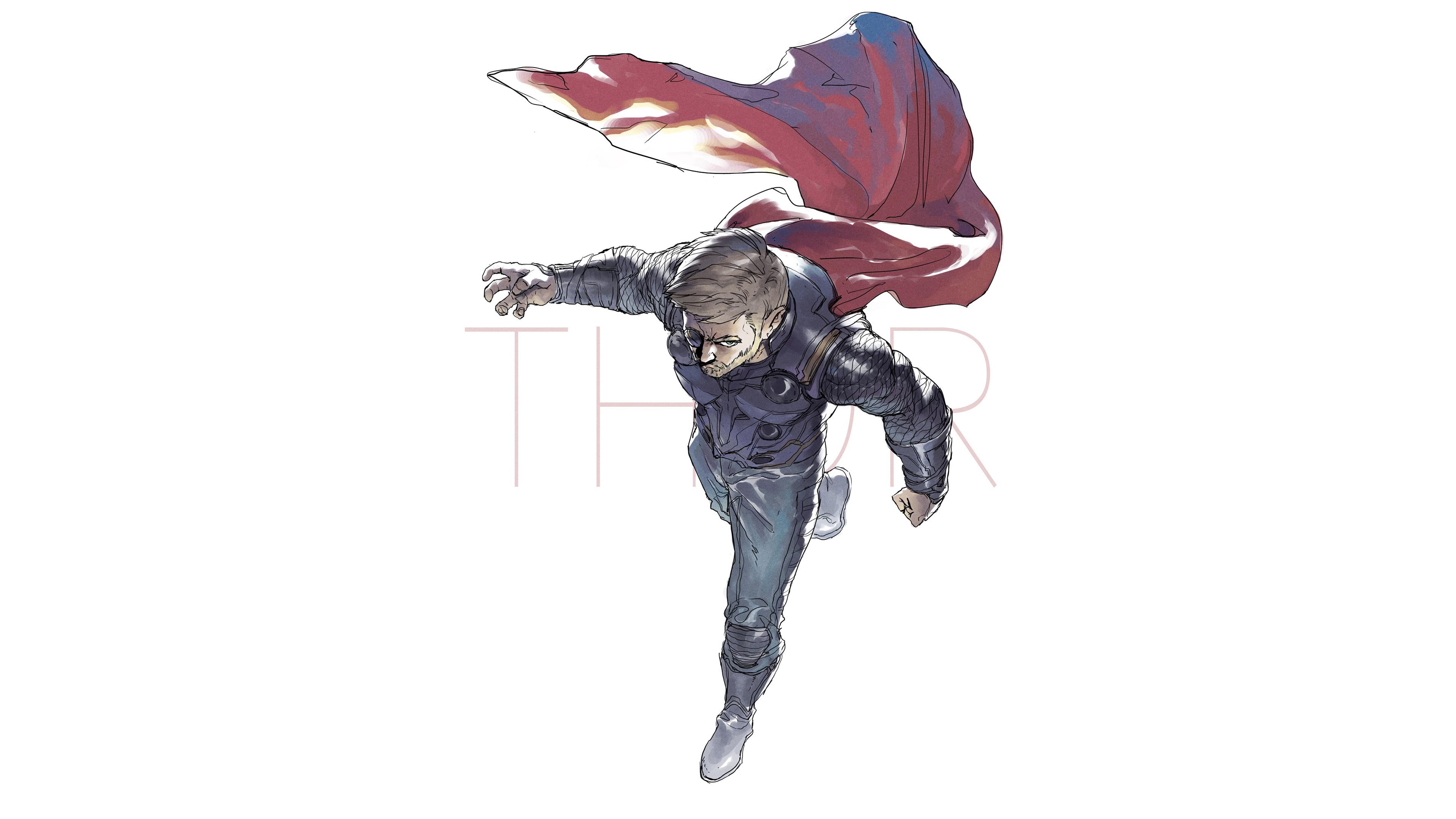 thor artwork for avengers infinity war 1536521803 - Thor Artwork For Avengers Infinity War - thor wallpapers, hd-wallpapers, deviantart wallpapers, avengers-infinity-war-wallpapers, artwork wallpapers, artist wallpapers, 4k-wallpapers