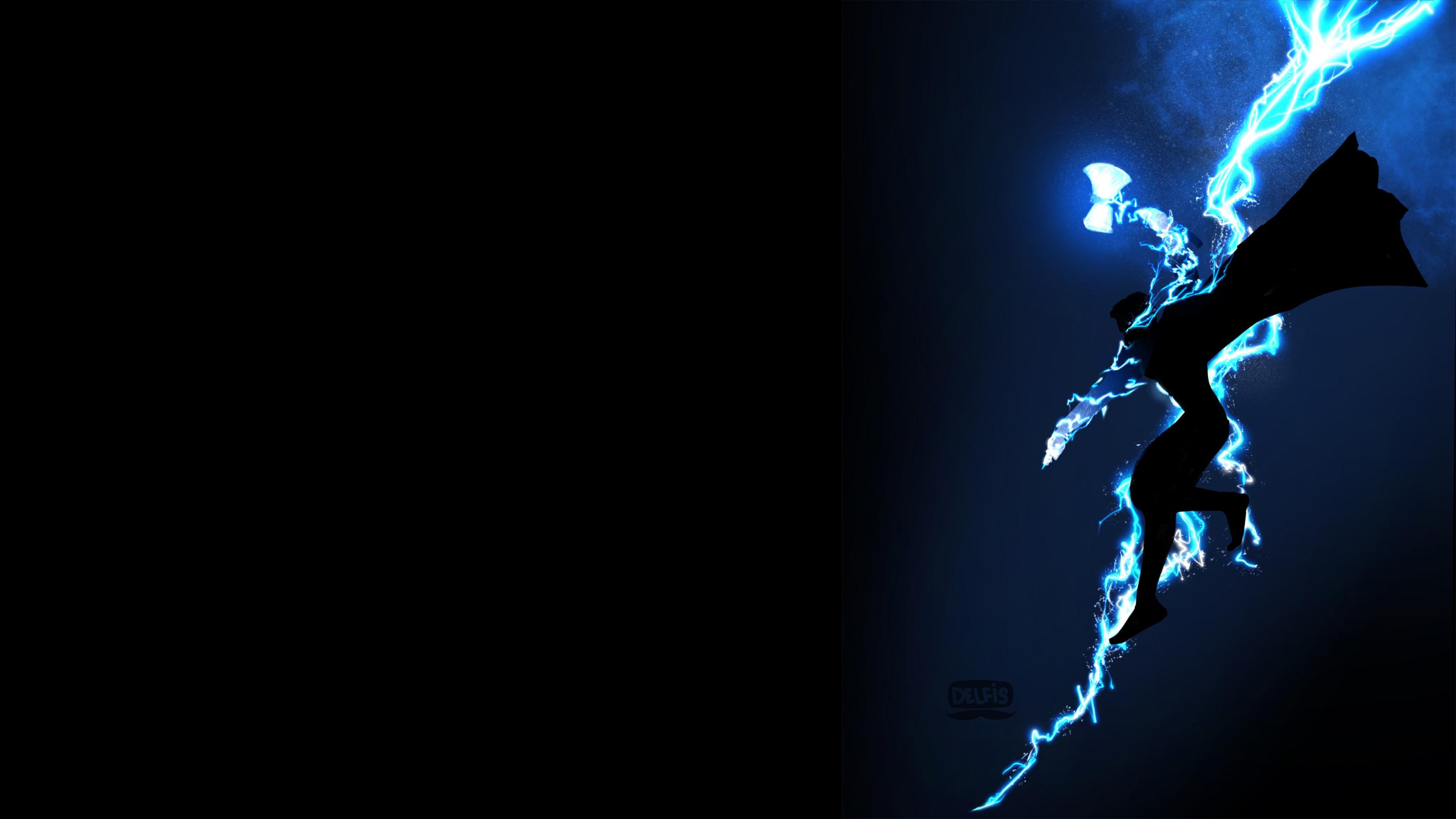 Thor God Of Thunder 4K thor wallpapers, superheroes ...